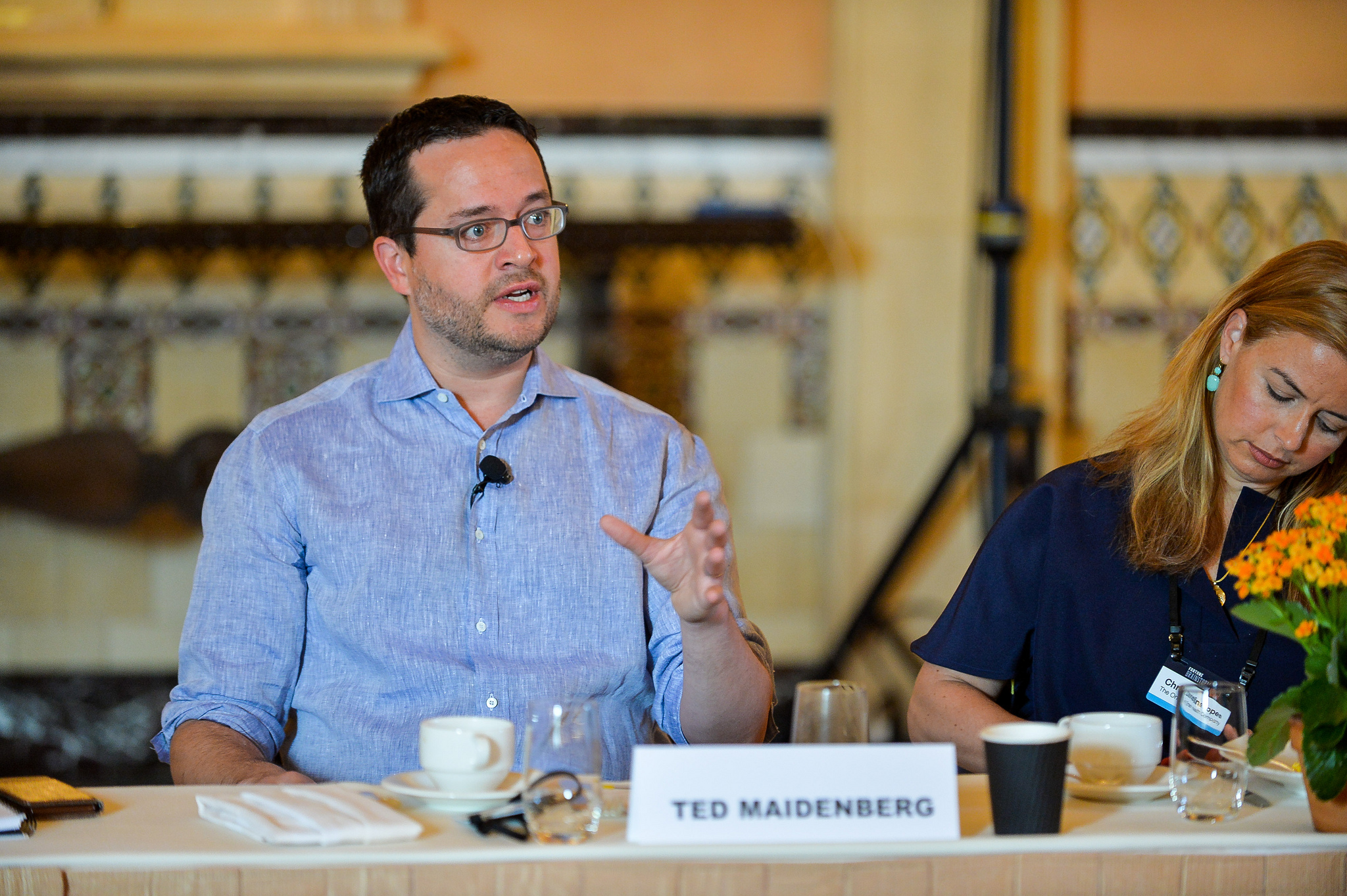Ted Maidenberg, co-founder and partner at Social Capital, speaks at the Fortune Brainstorm Health conference in San Diego on May 3, 2017.