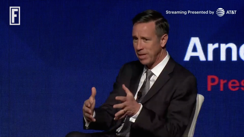 Marriott CEO Arne Sorenson at the 2017 Great Place to Work conference in Chicago.