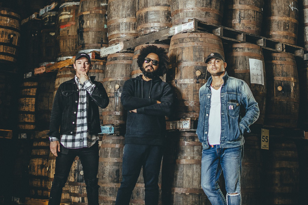 Bacardi has created a new limited edition bottle of rum with the musical trio Major Lazer.