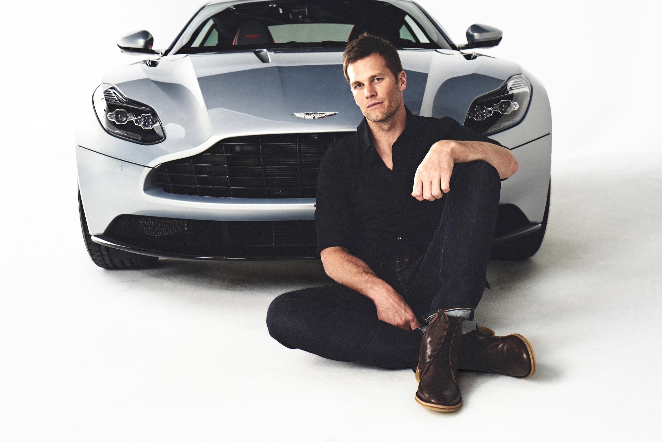 Tom Brady New England Patriots Quarterback Signs With Aston Martin Fortune