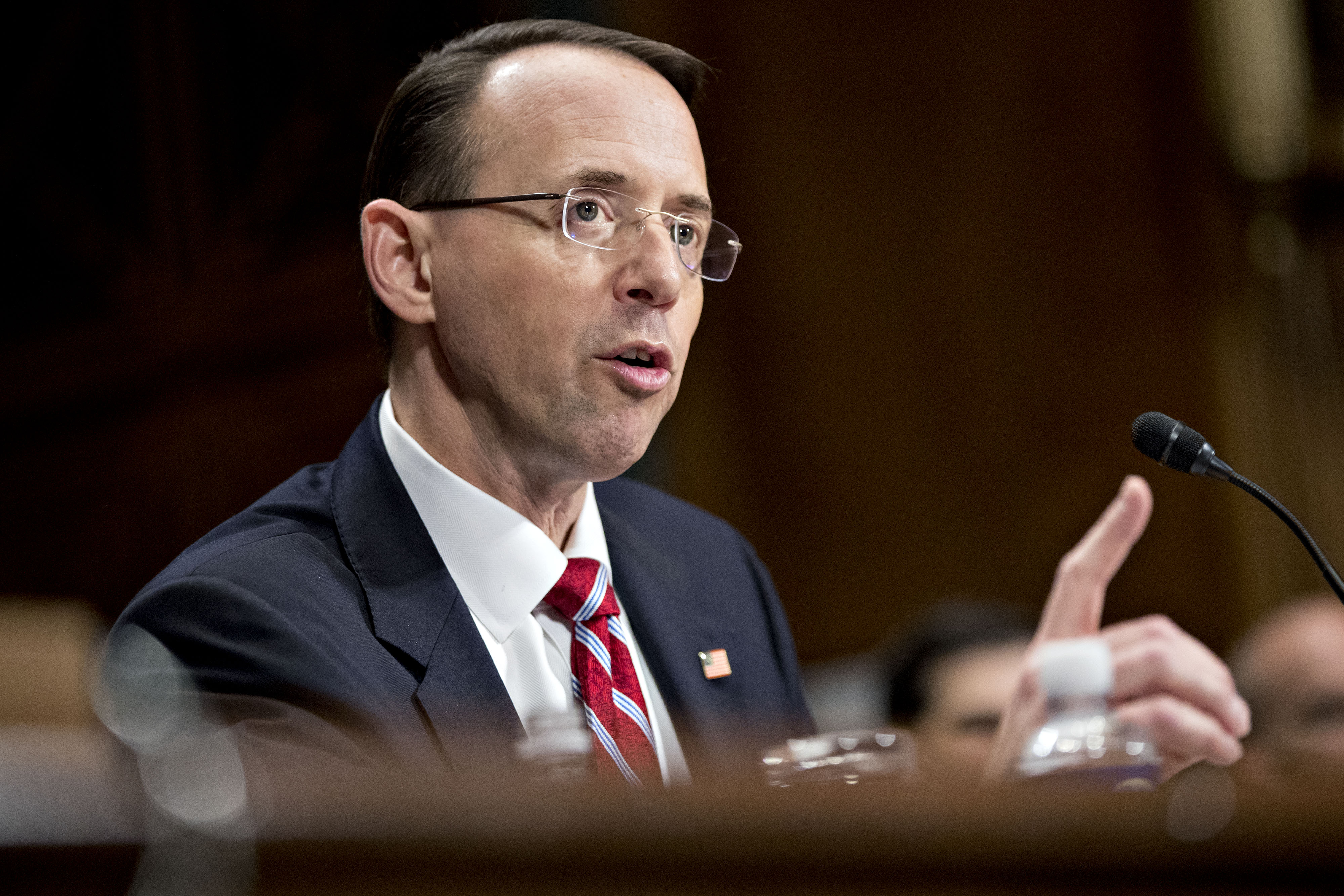 Senate Judiciary Committee Considers Rod Rosenstein To Be Deputy Attorney General