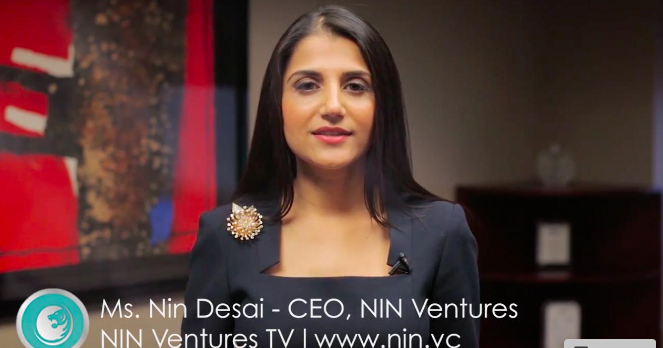 Nin Ventures founder Nin Desai.