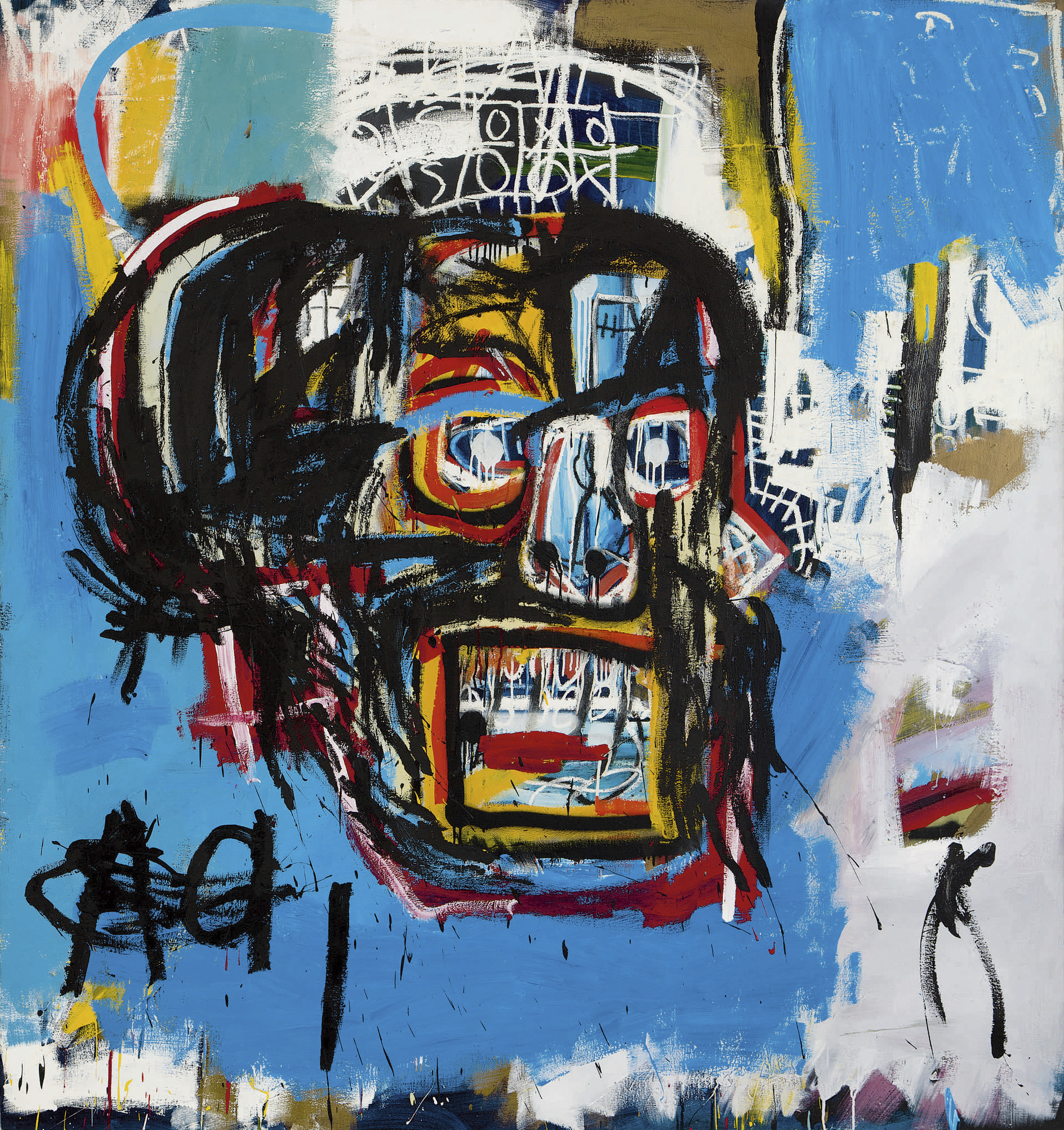 Basquiat Painting Sells For A Record 110 5 Million Fortune