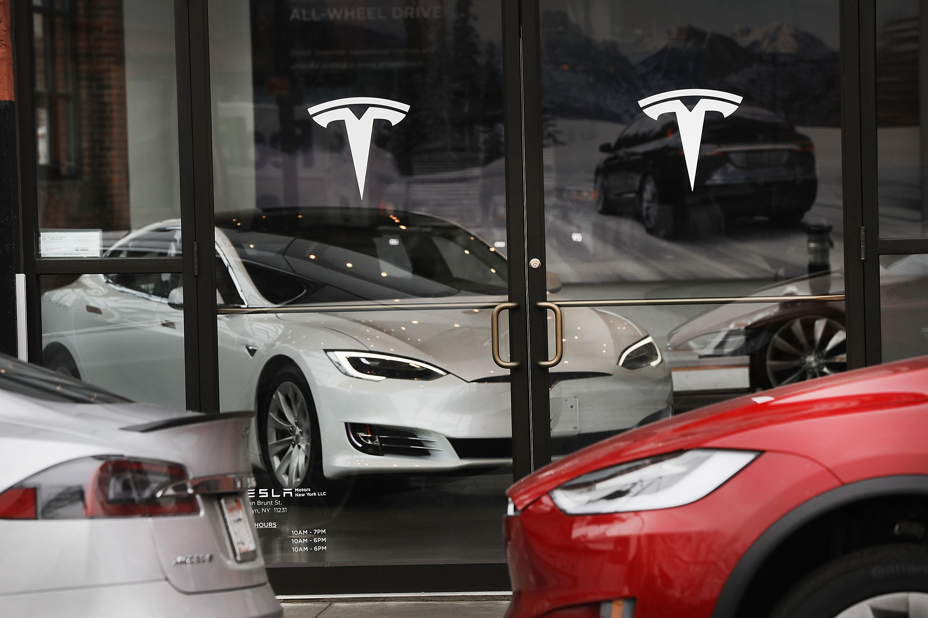 Tesla's Surging Market Value Eclipses Ford For First Time