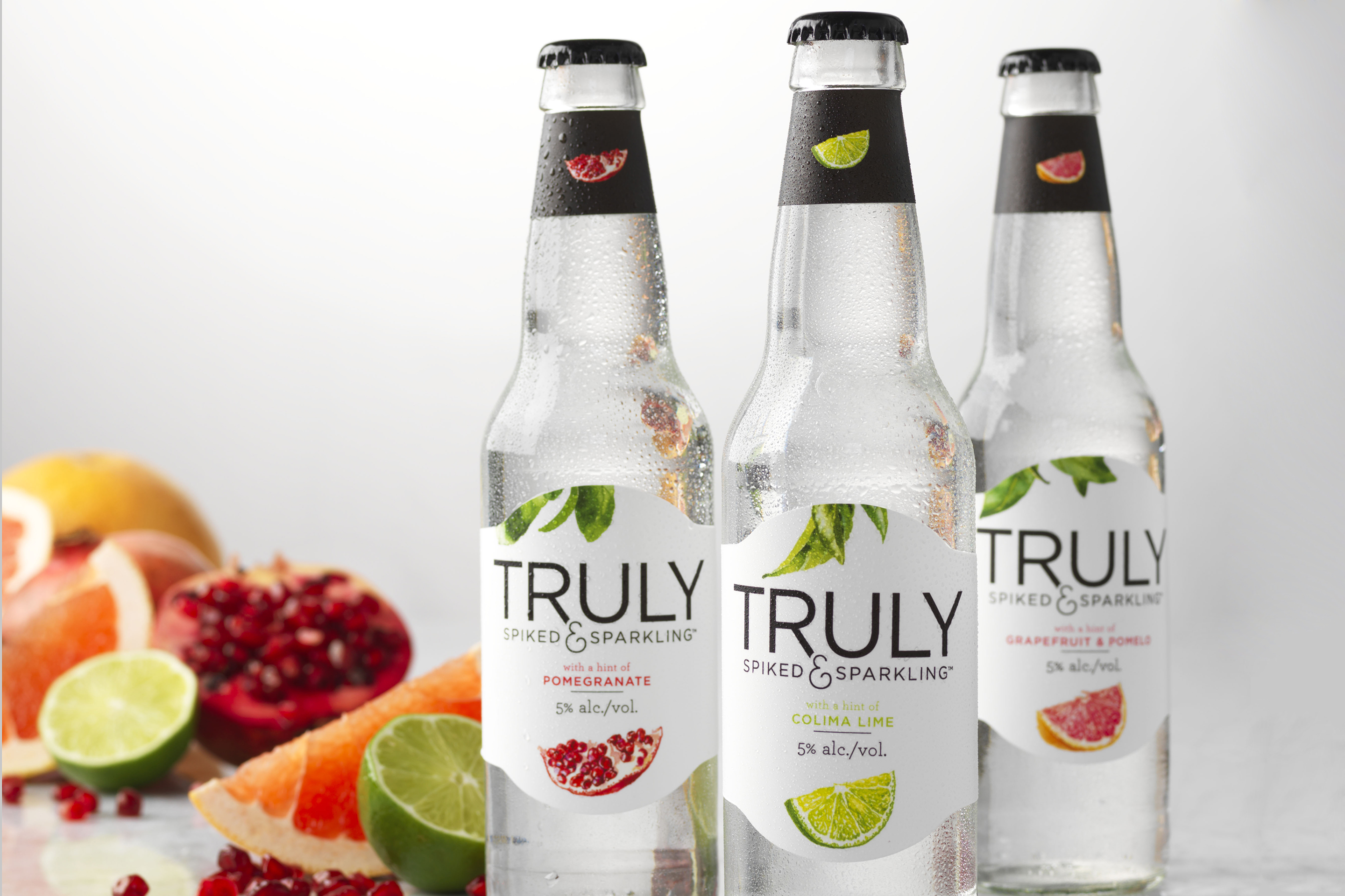 Truly Sparkling is a newer brand by Boston Beer that is aiming to tackle the emerging hard seltzer alcohol beverage category.
