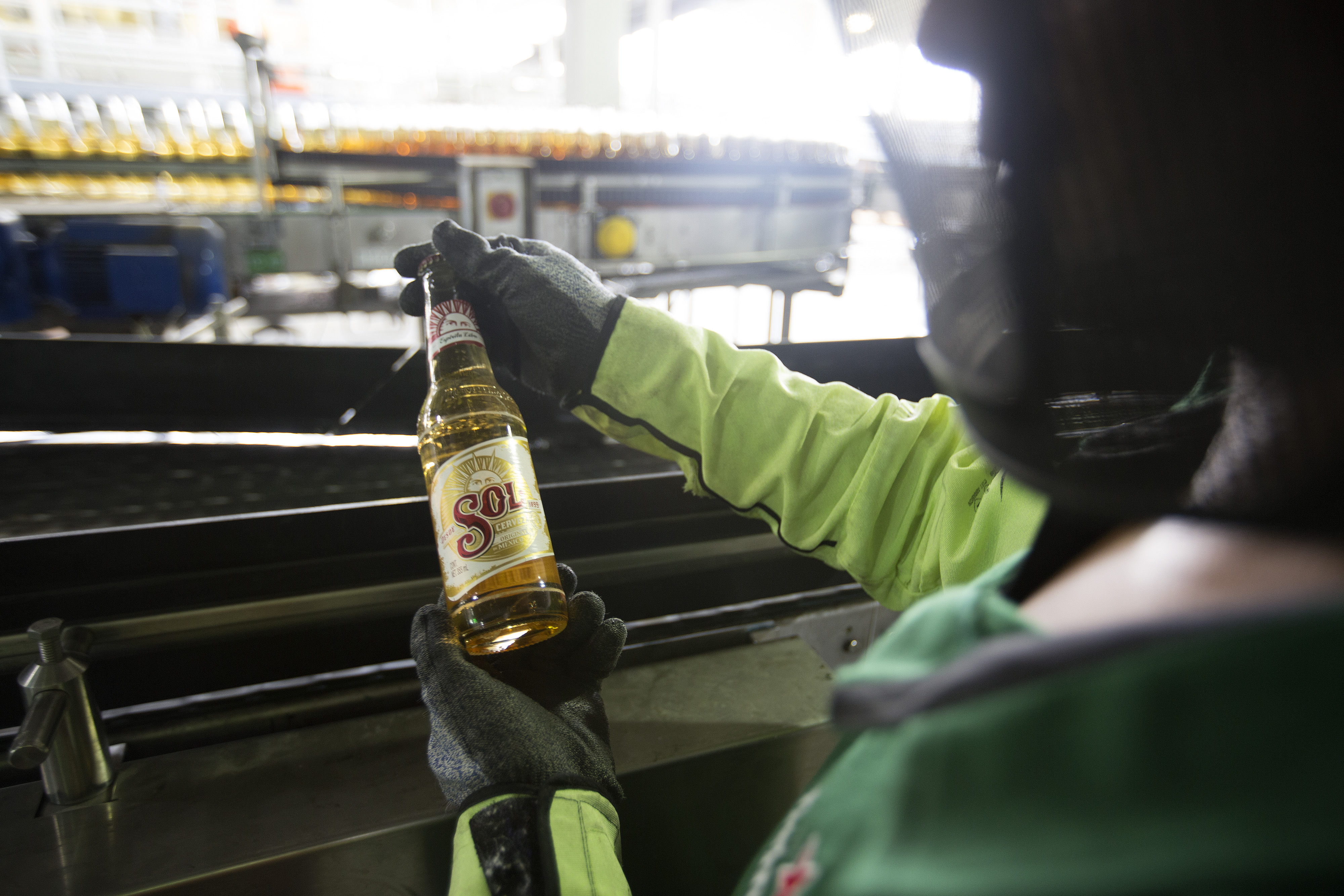 Operations Inside A Heineken NV Production Plant