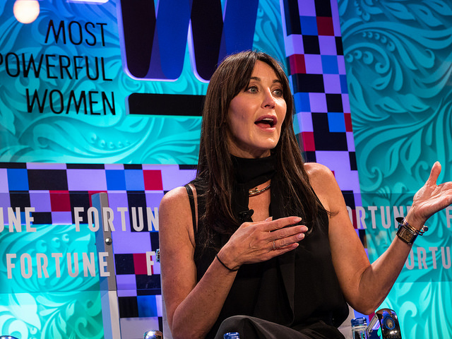 Tamara Mellon at Fortune magazine's Most Powerful Women Summit at the Dorchester Hotel, London. June 12 2017. Pictures by Peter Dench for Fortune Magazine.