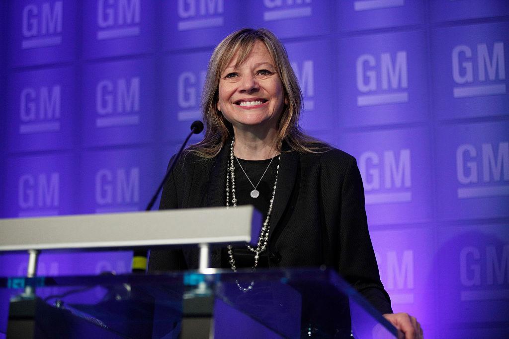 GM Holds Annual Shareholders Meeting In Detroit