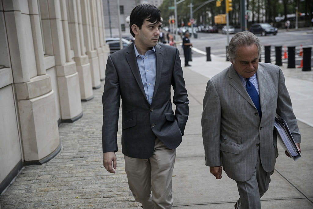 Former Turing Pharmaceuticals AG Chief Executive Officer Martin Shkreli Court Appearance