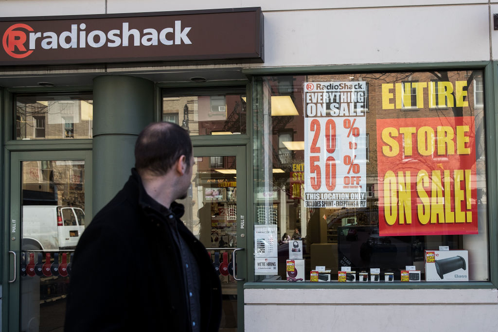 Radio Shack Declares Bankruptcy
