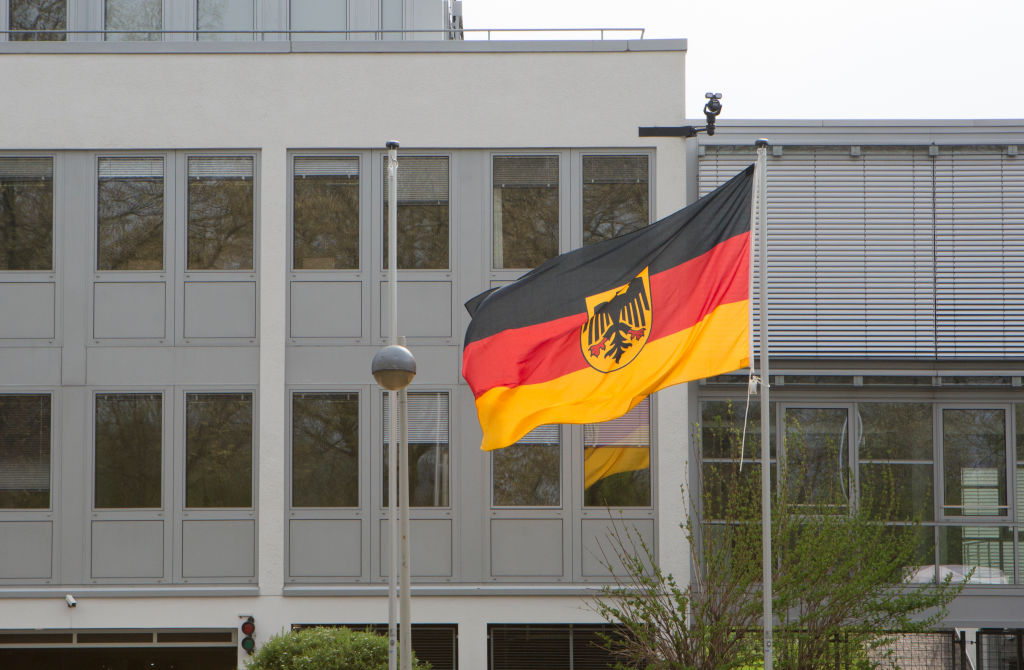 Exterior of the building for the newly created Command Cyber and Information Room (CIR) in Bonn.