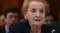 Former Secretary Of State Madeline Albright Testifies To Senate Committee U.S. Democracy Assistance Programs Abroad