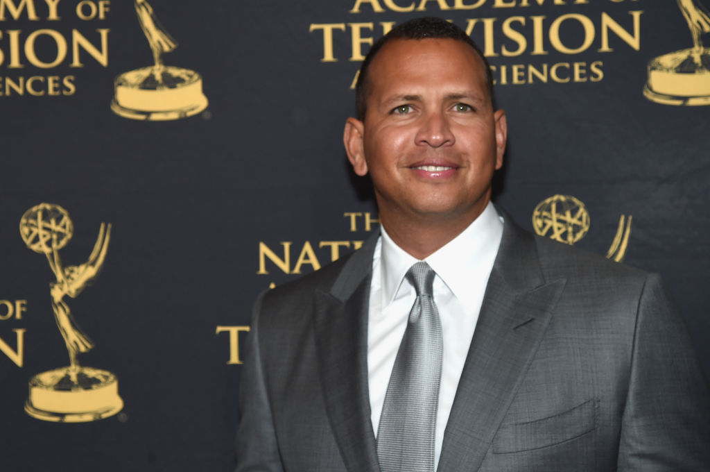 NEW YORK, NY - MAY 09:  Alex Rodriguez attends the 38th Sports Emmy Awards at Jazz at Lincoln Center on May 9, 2017 in New York City.  (Photo by Jamie McCarthy/Getty Images)