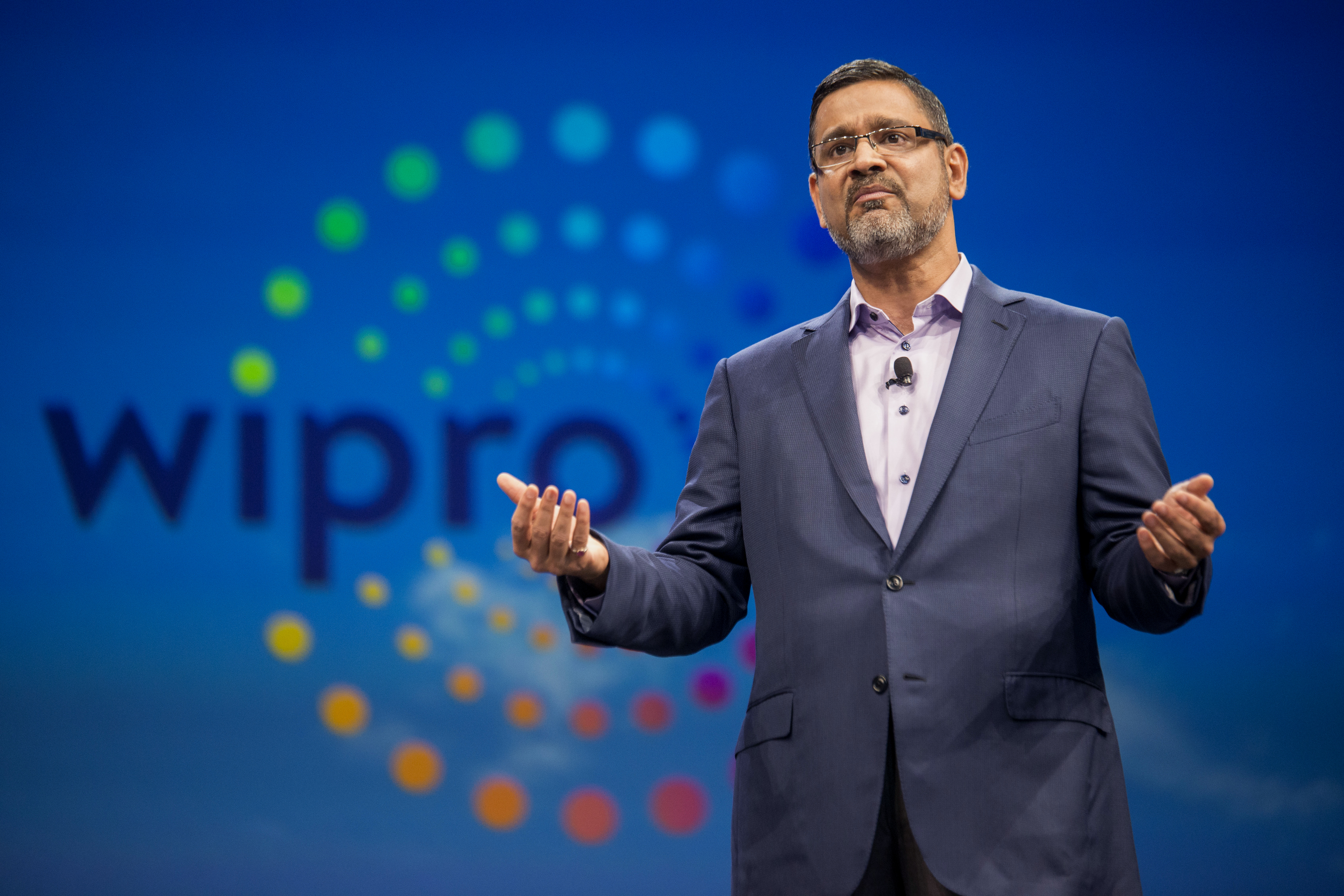 Abidali Neemuchwala, chief executive officer of Wipro.