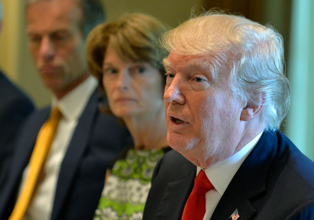 President Trump Hosts Lunch for Congressional Members at White House