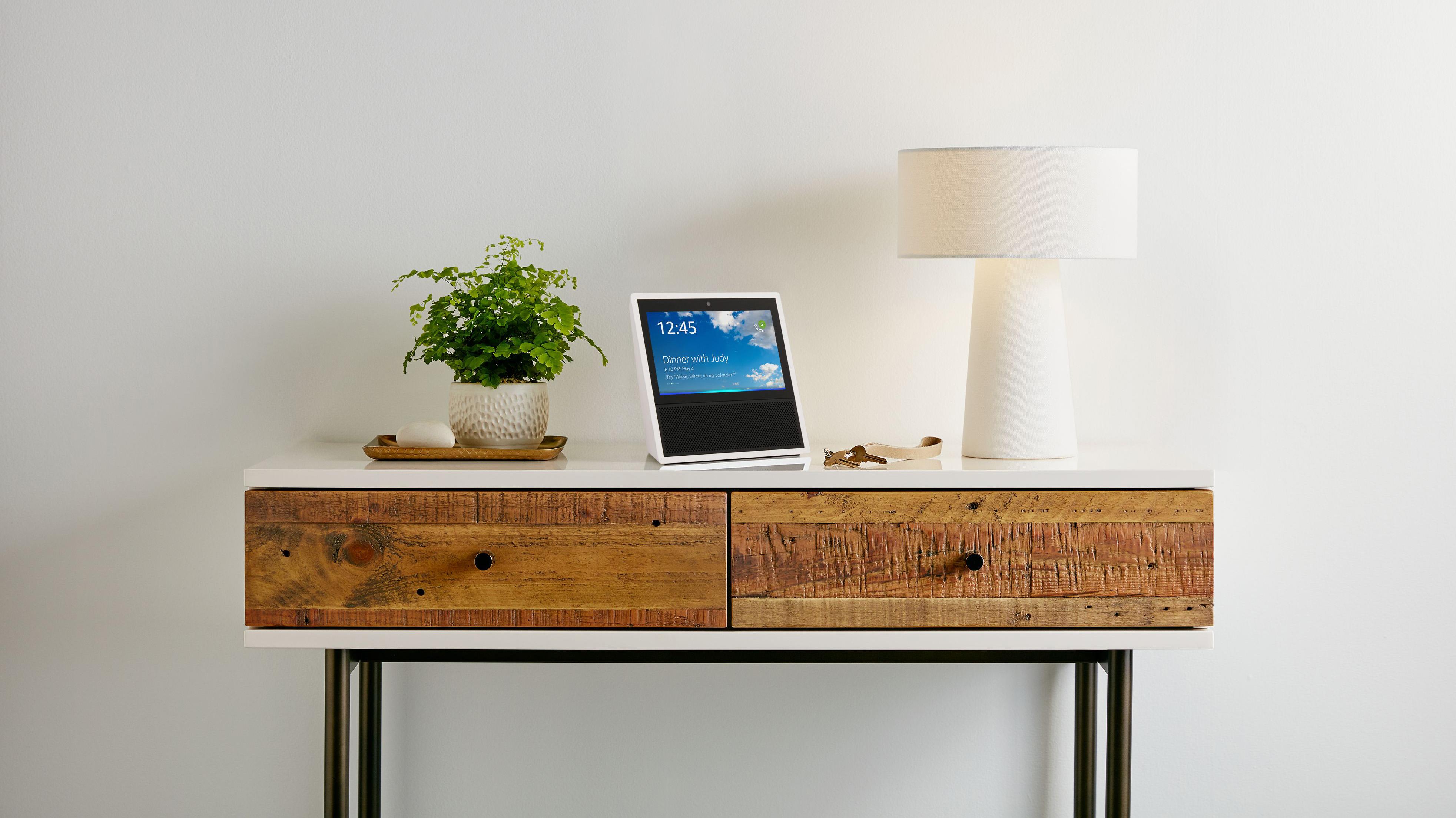 Amazon Echo Show living room