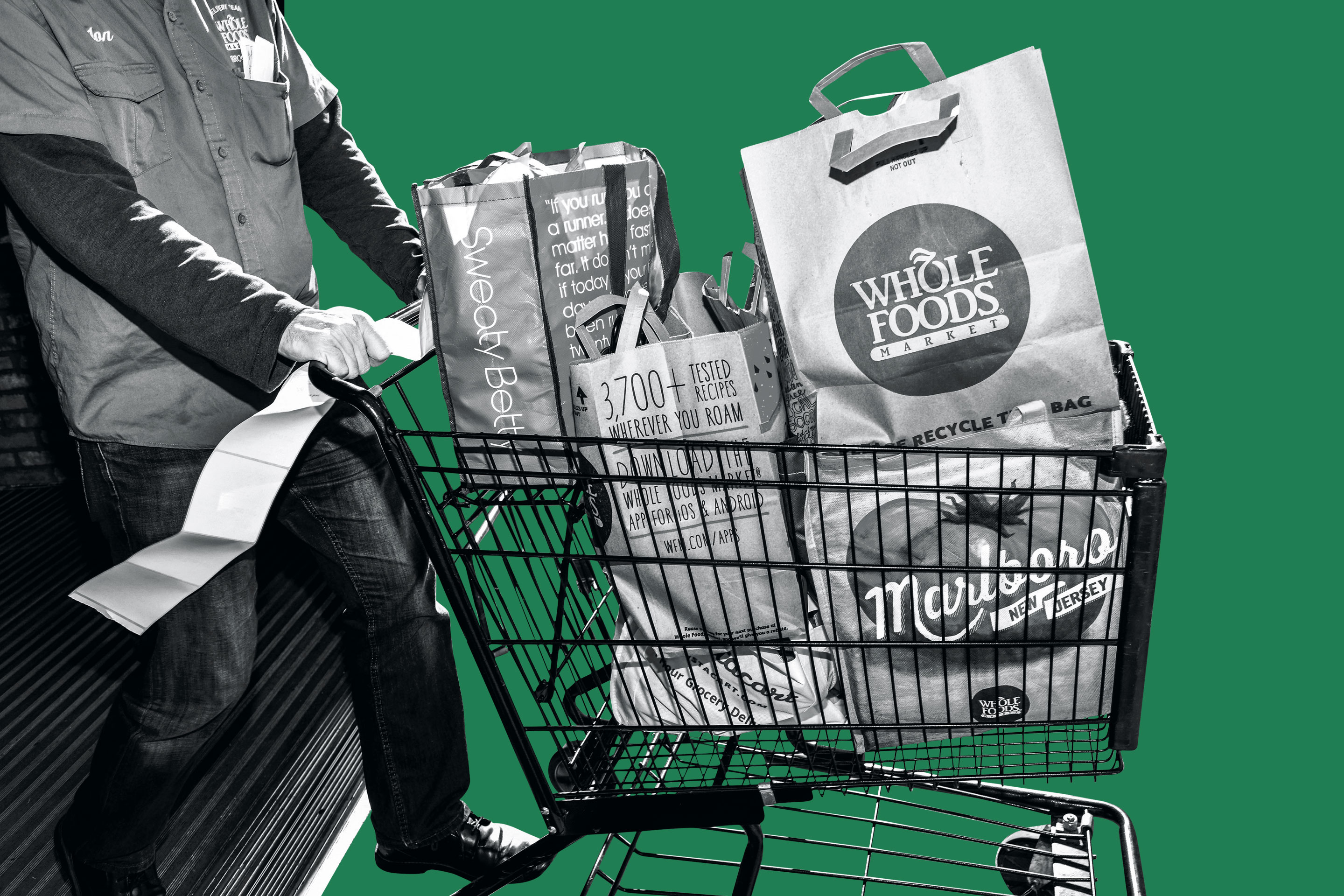 Amazon will get a nationwide distribution network and more if it can get Whole Foods to the checkout line.