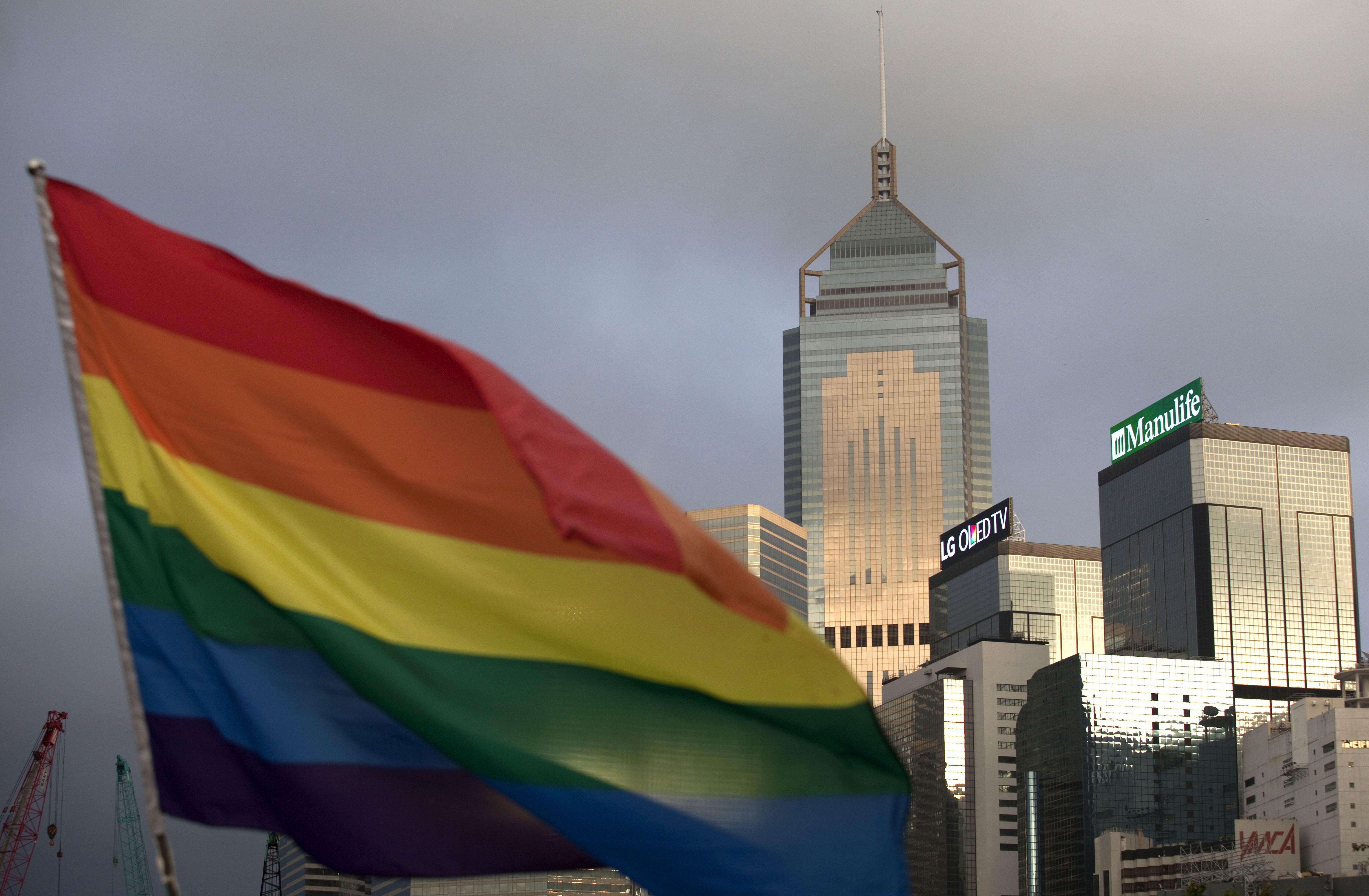 HONG KONG-SOCIAL-LGBT-PARADE