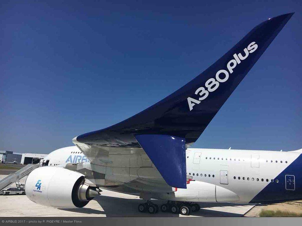 Airbus A380plus, 2017 Paris Airshow