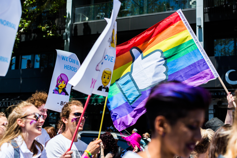 Midsumma Pride March Melbourne Australia