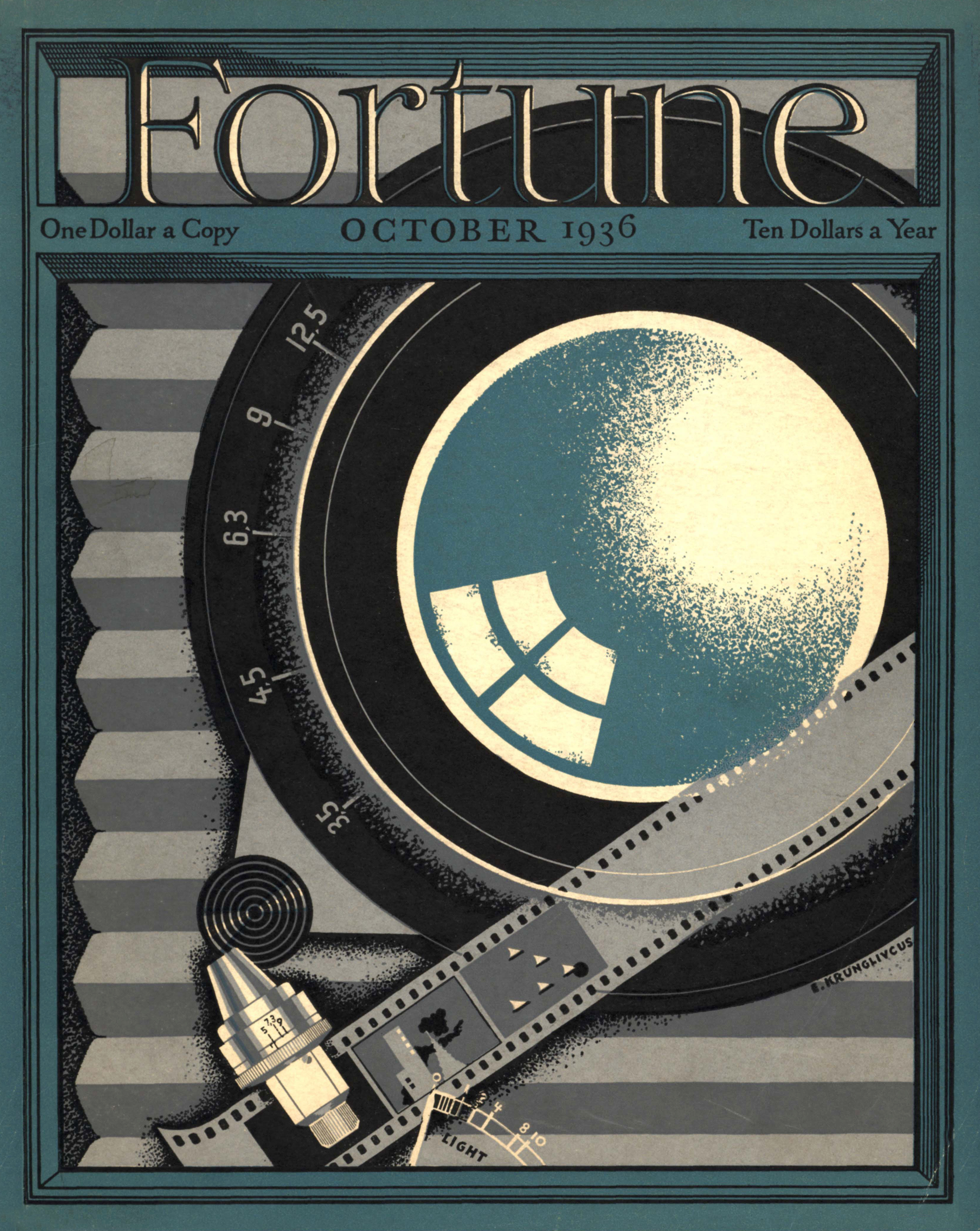 Fortune magazine cover October 1936 issue