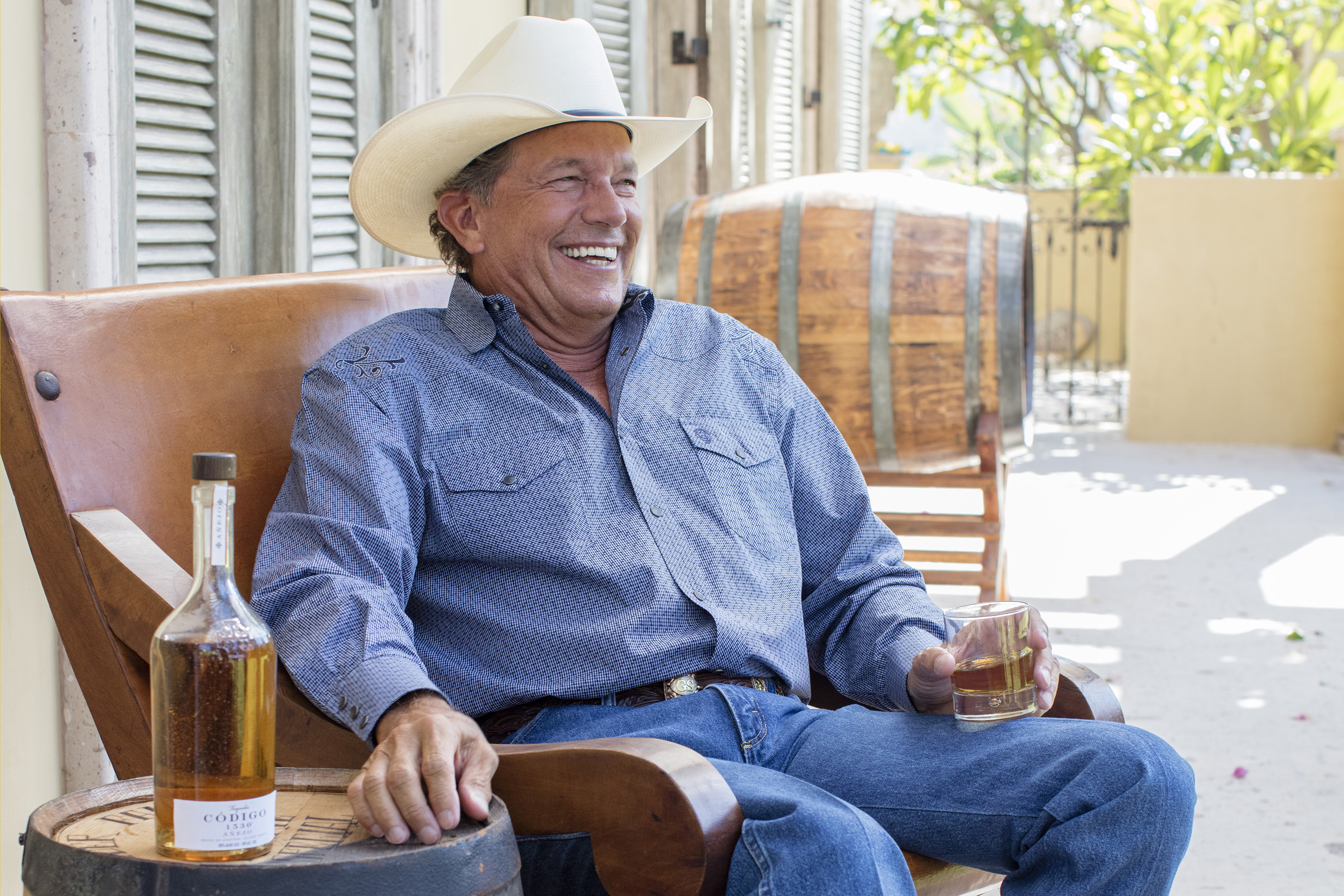 Country singer George Strait is an investor in Código tequila.