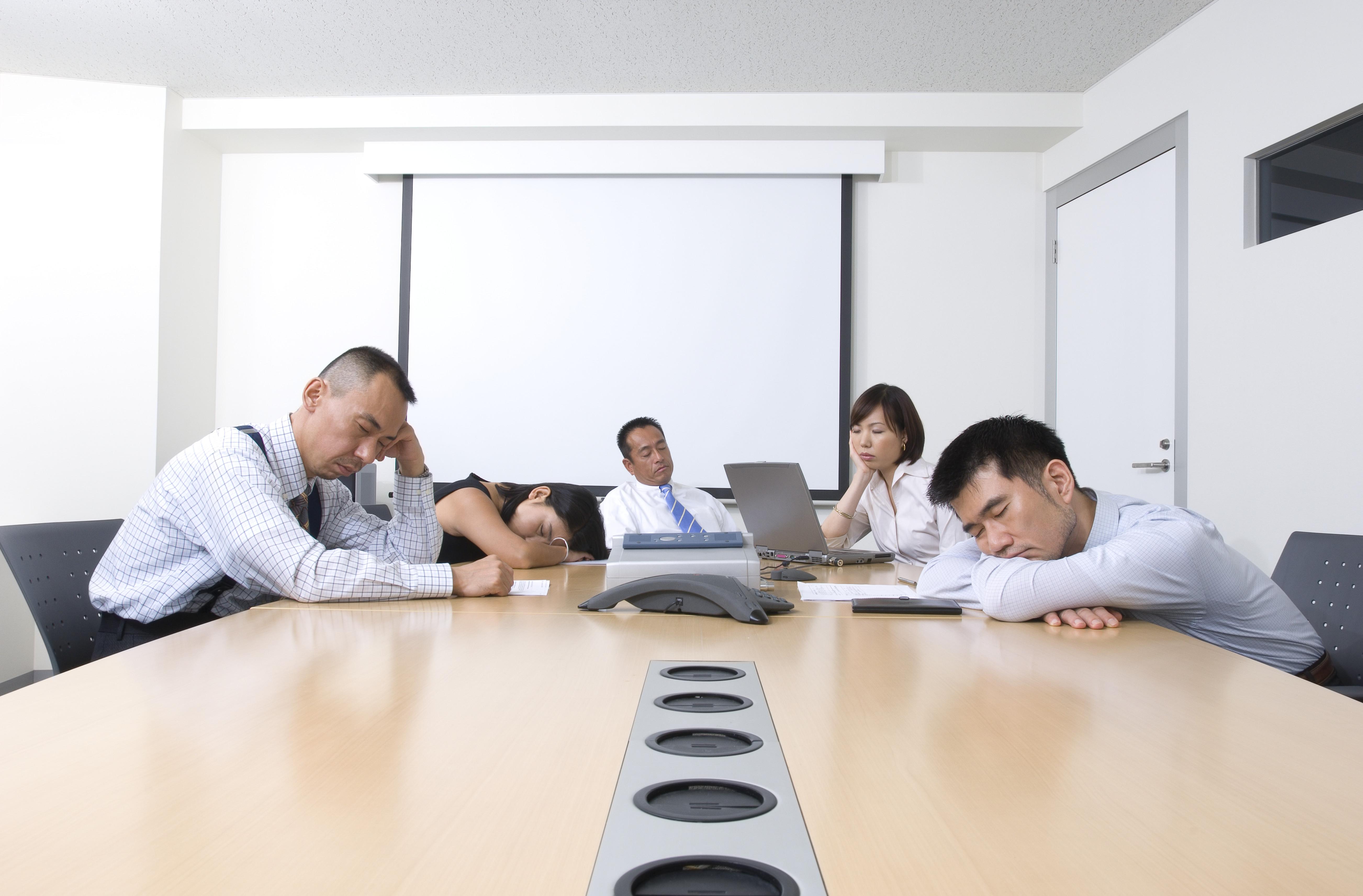 Boring meeting