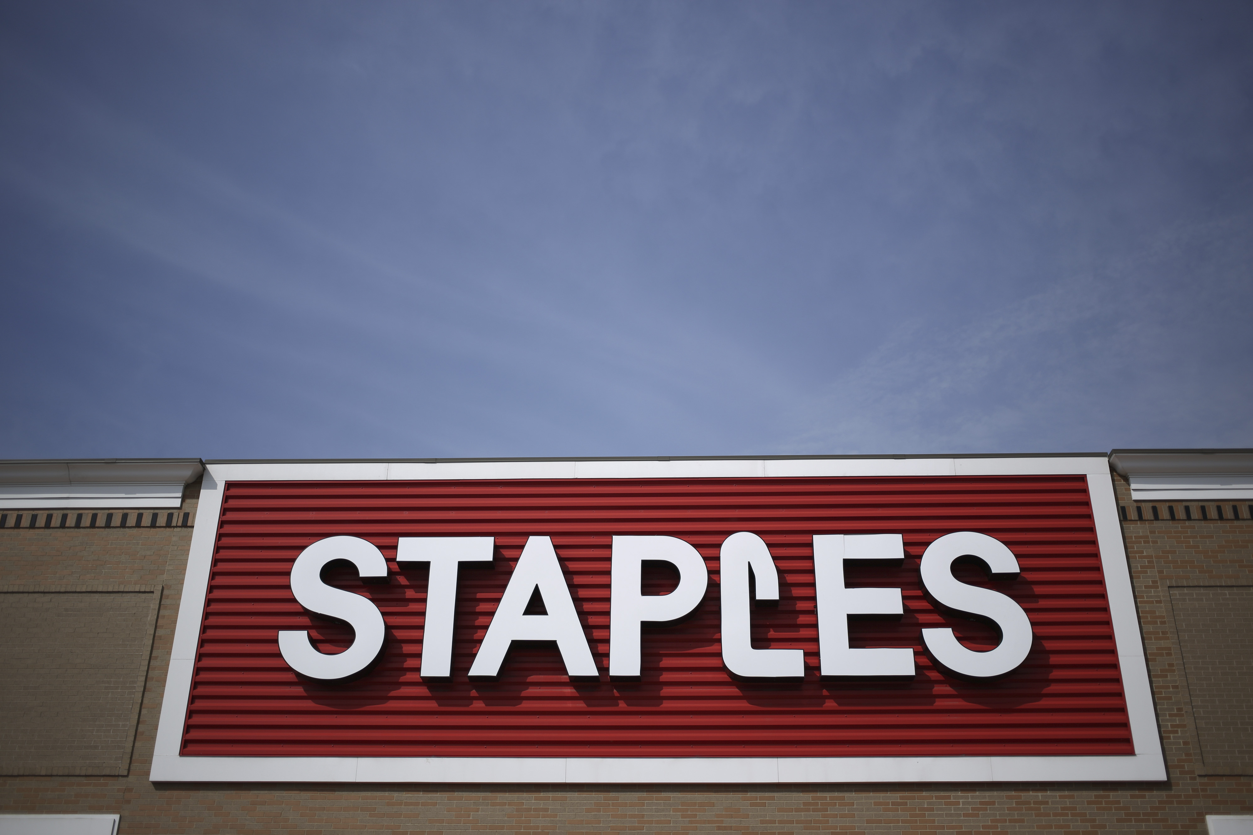 A Staples Inc. Store Ahead Of Earnings Figures