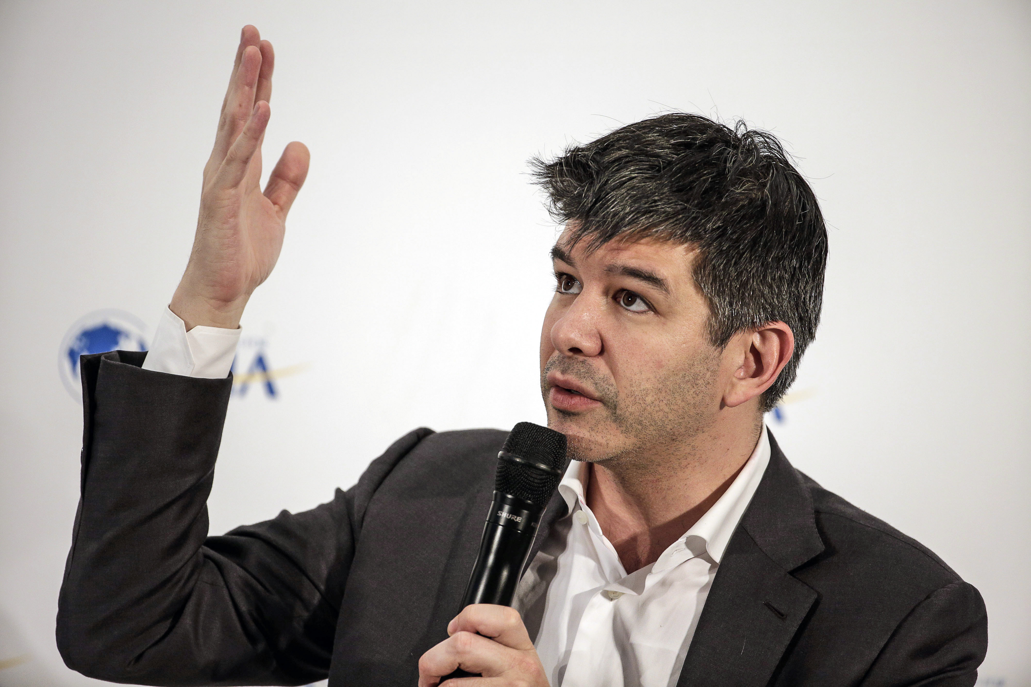 Travis Kalanick at the Asia Annual Conference in Boao, China, on Wednesday, March 23, 2016.