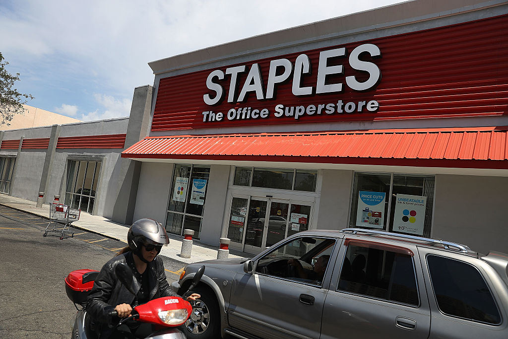 Federal Judge Blocks Proposed Merger Of Staples And Office Depot