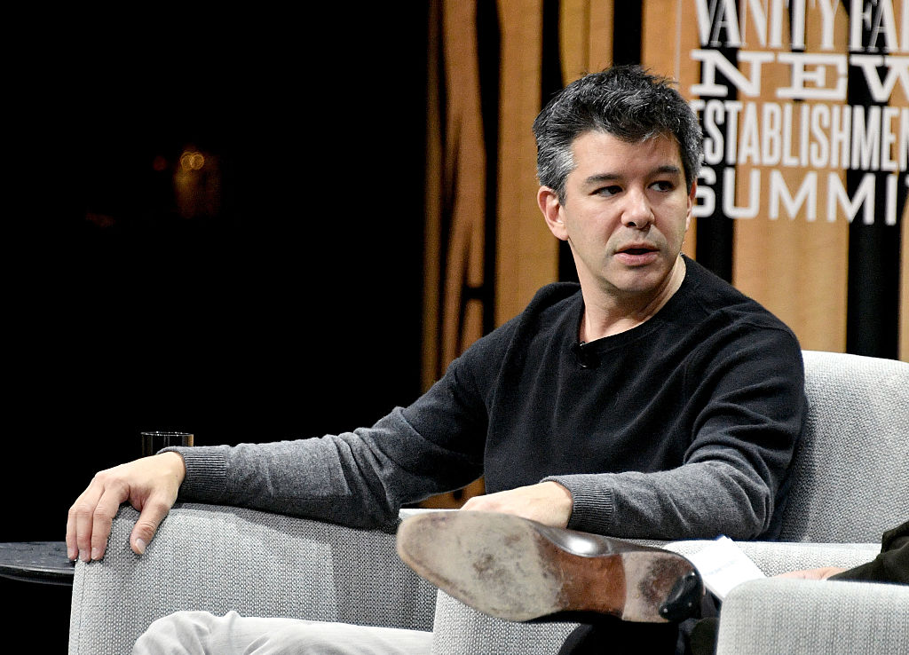 speaks onstage during the Vanity Fair New Establishment Summit at Yerba Buena Center for the Arts on October 19, 2016 in San Francisco, California.