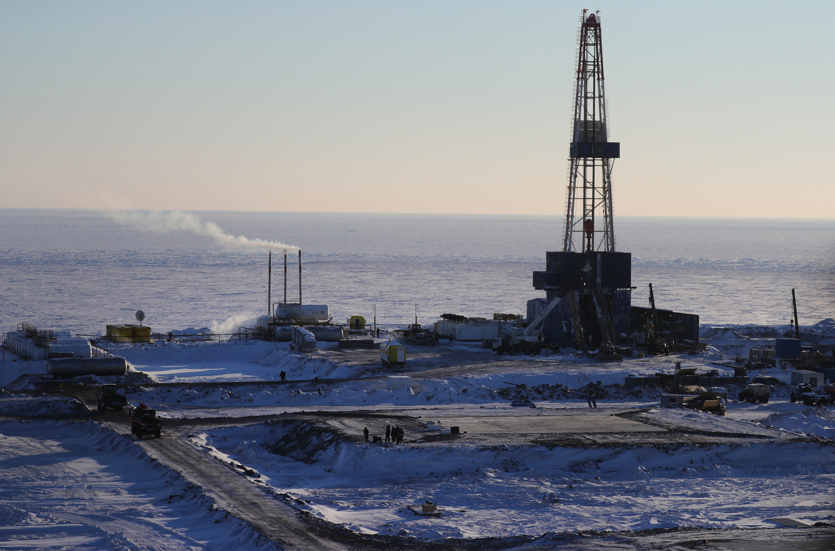 Rosneft launches first Khatanga Bay oil well in Laptev Sea
