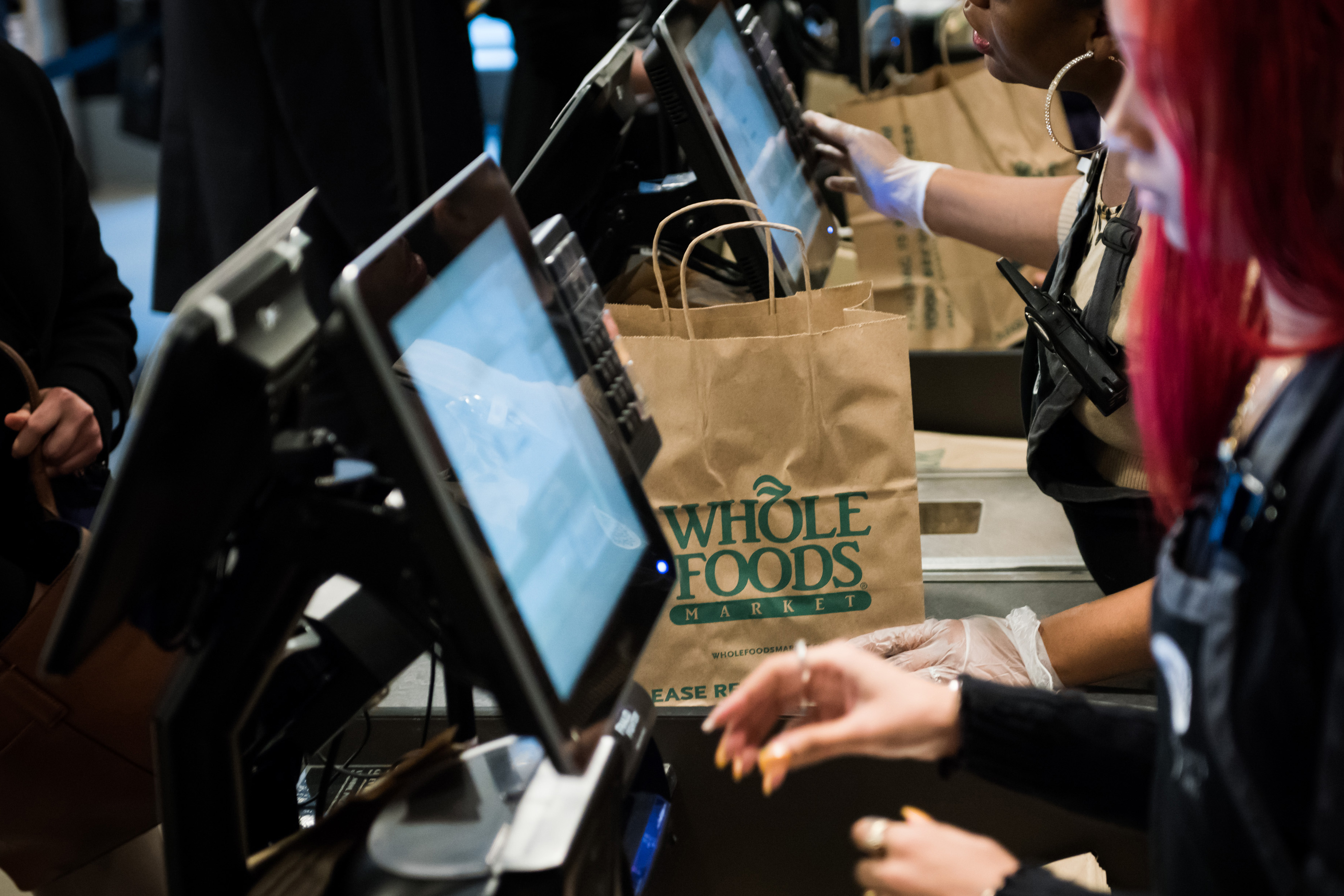 Inside A Whole Foods Market As Sushi-Loving Fans Are Seen As Key To Turnaround