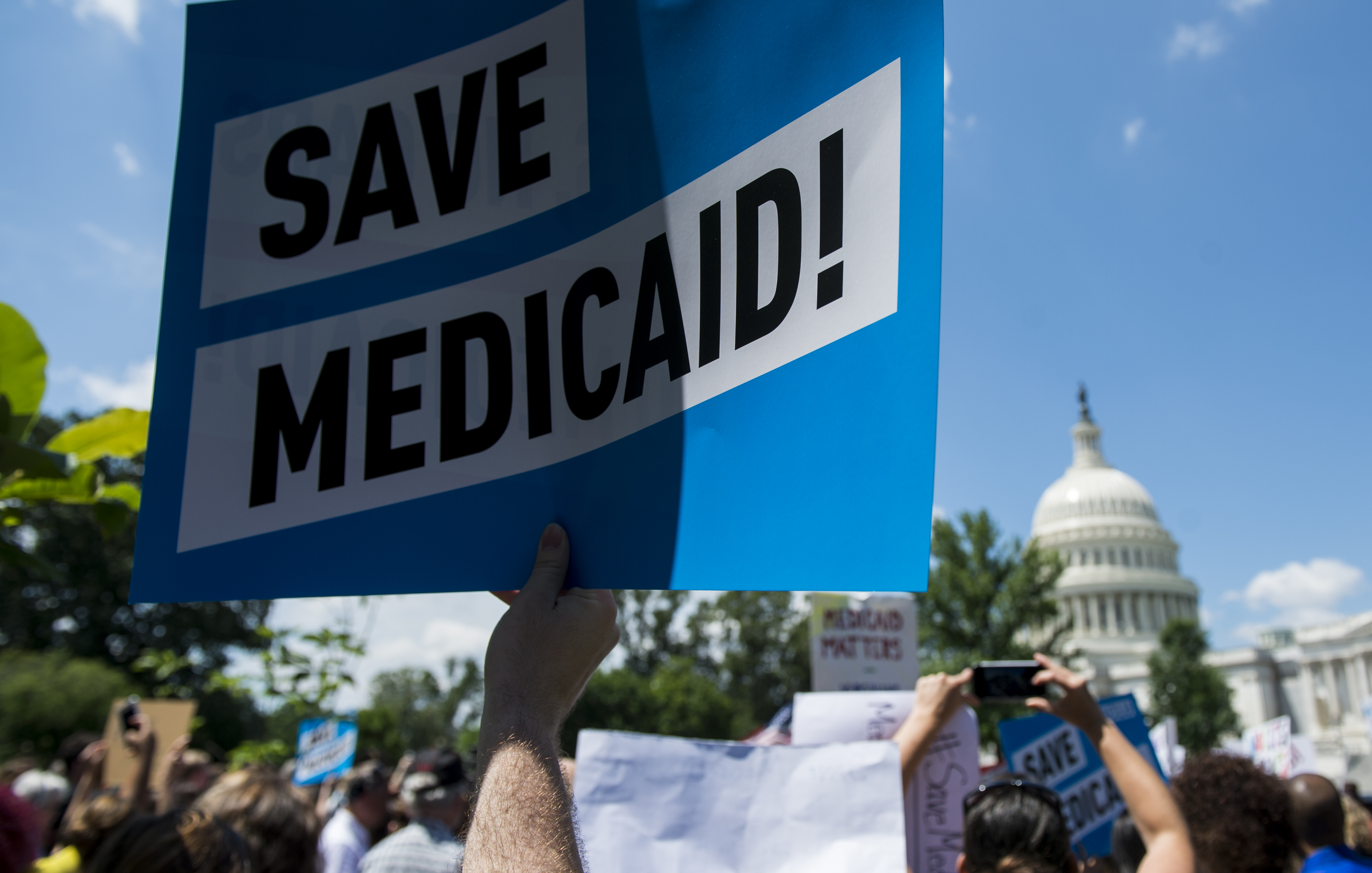 Medicaid Cuts Rally