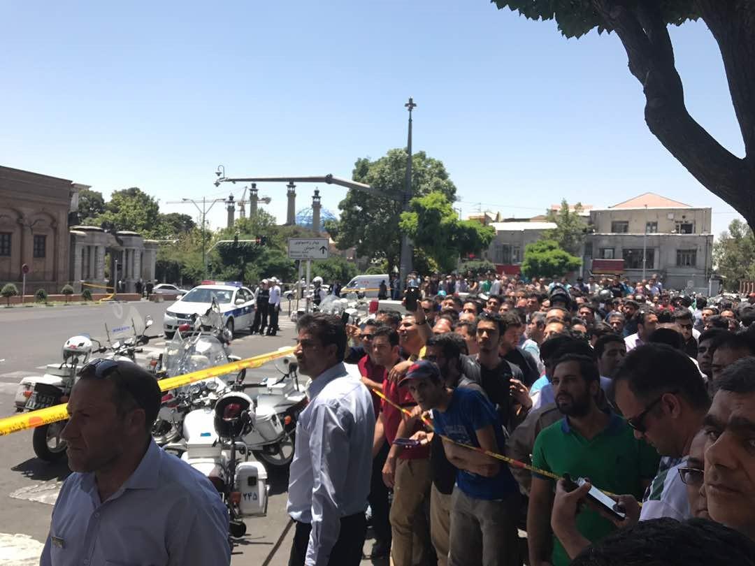 Attacks at Iranian parliament, Khomeini shrine