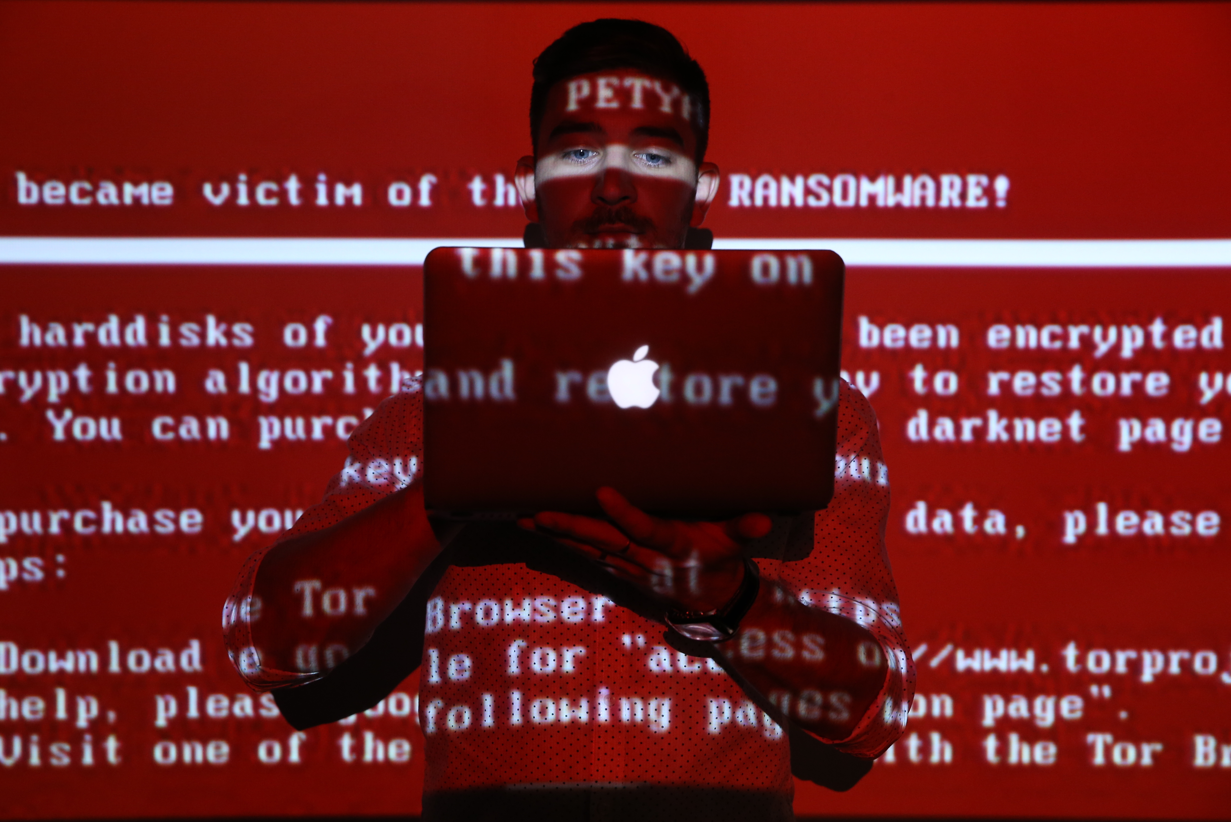 Petya ransomware cyber attack