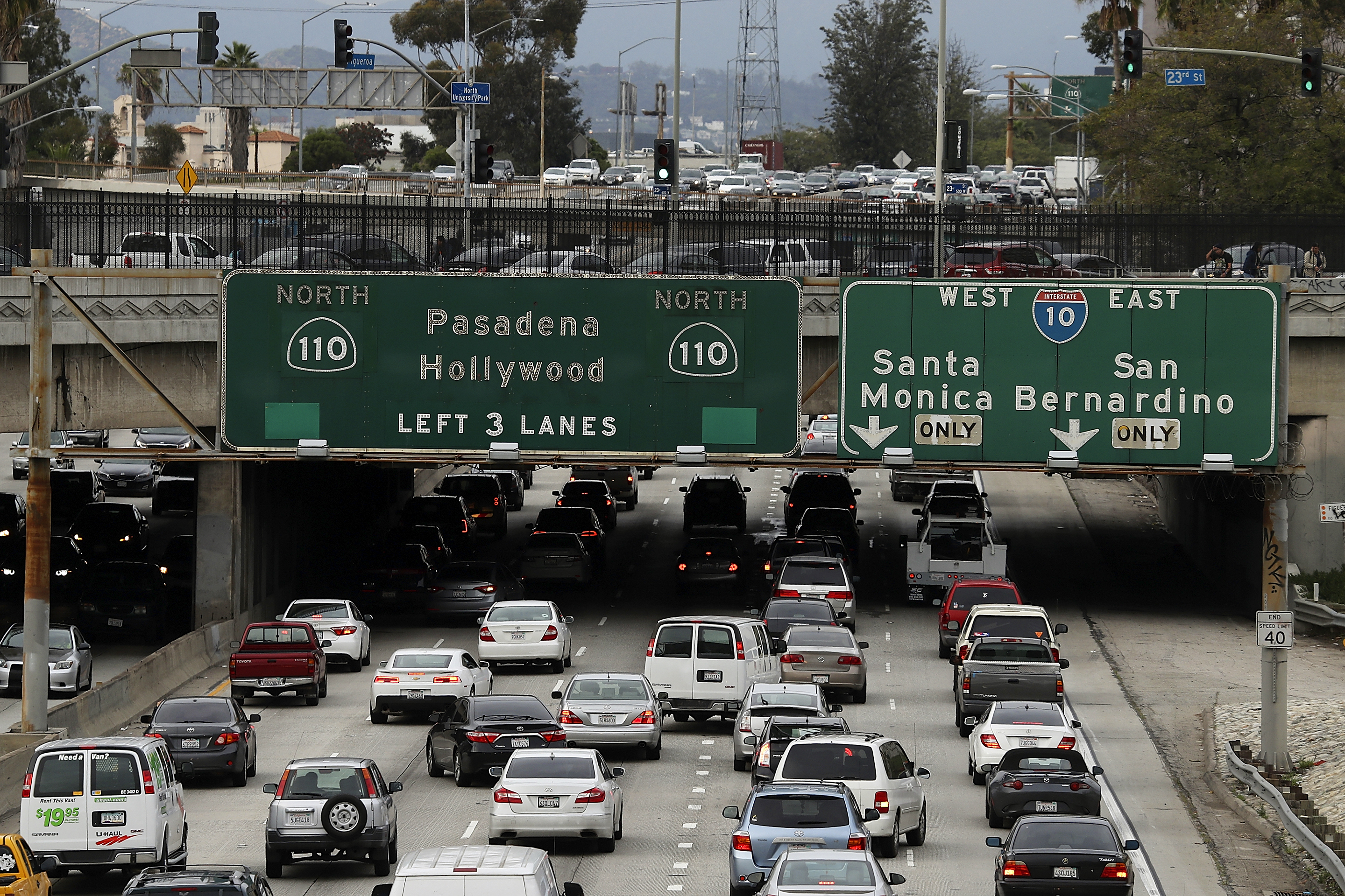 Los Angeles Tops List Of Most Traffic-Congested Cities In The World