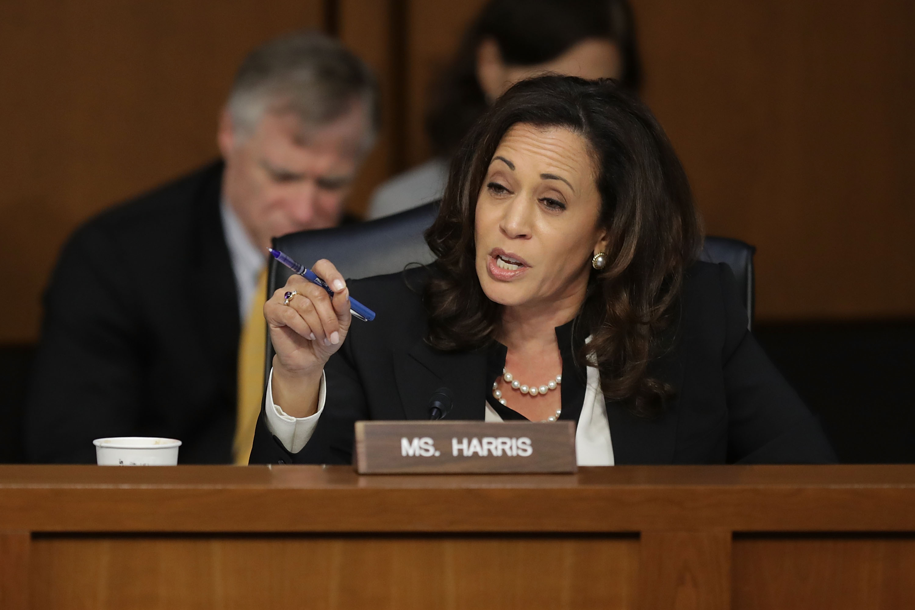 Kamala Harris Silenced In Senate Hearing But Keeps Going Fortune
