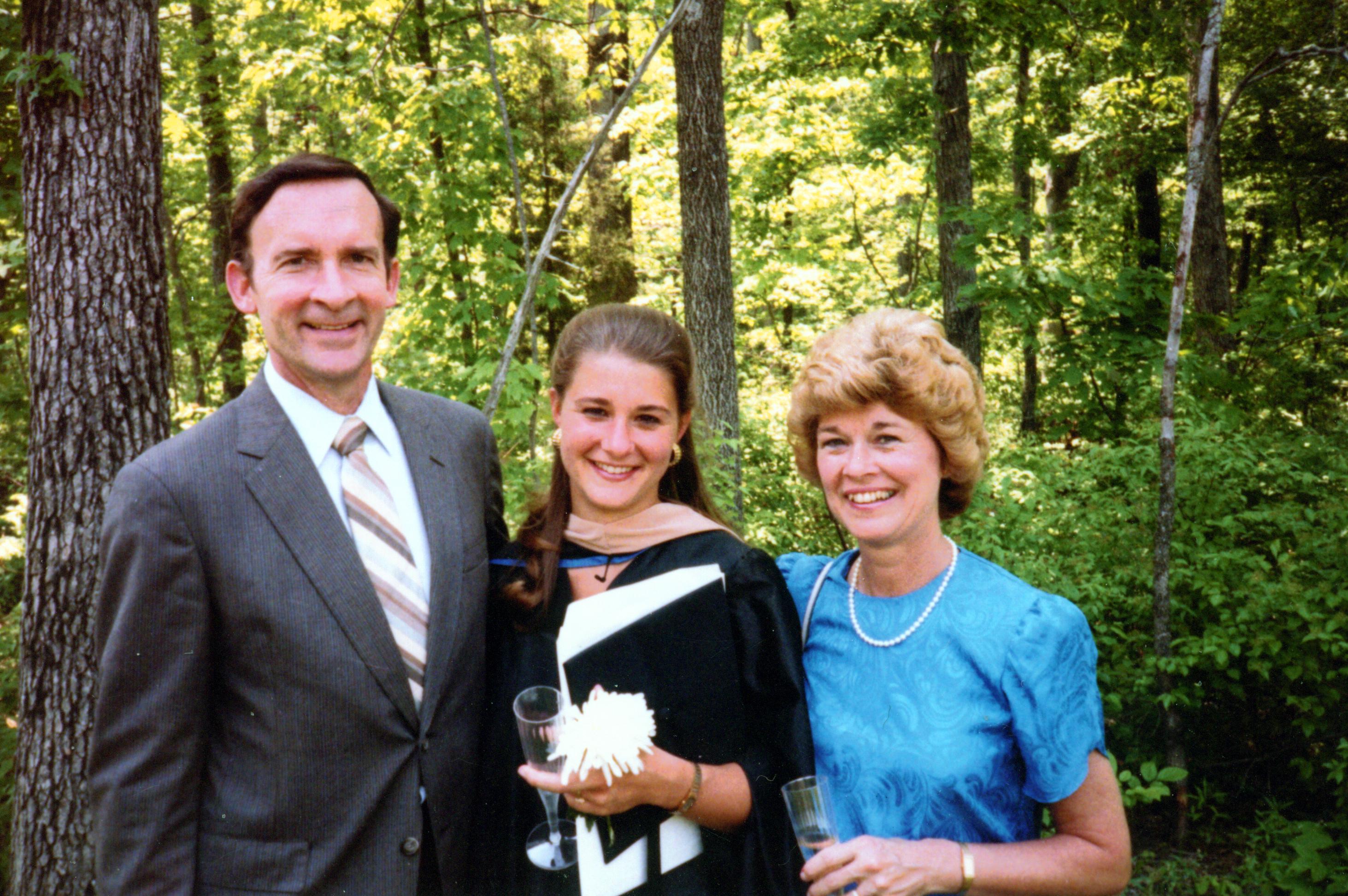 Melinda Gates on Duke University graduation day