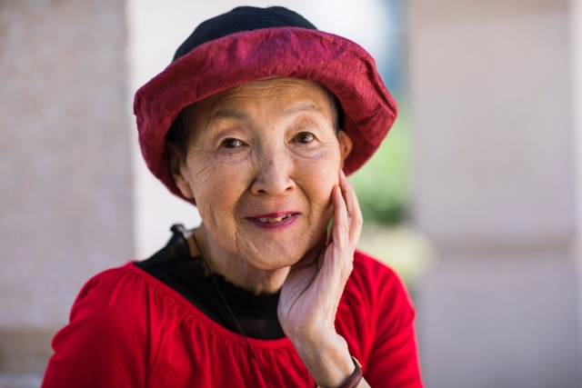 Masako Wakamiya, the oldest attendee of Apple's annual developer conference.