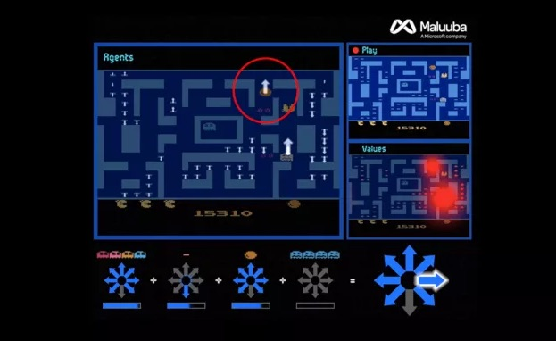 Microsoft claims AI that beat Ms. Pacman record