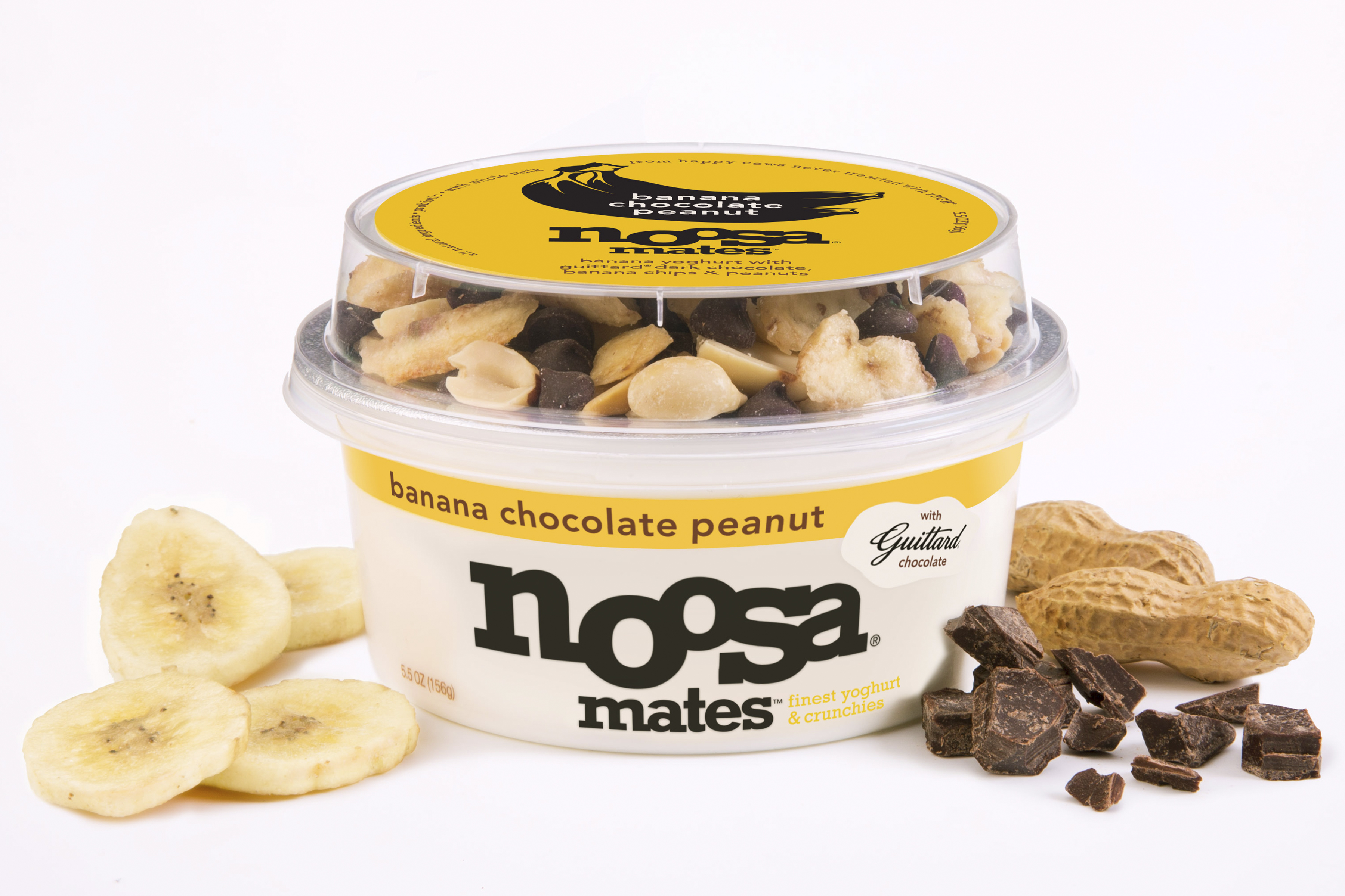 Noosa Yoghurt is aiming at the newer trend of adding mix-in sugary snacks to plain yogurt.
