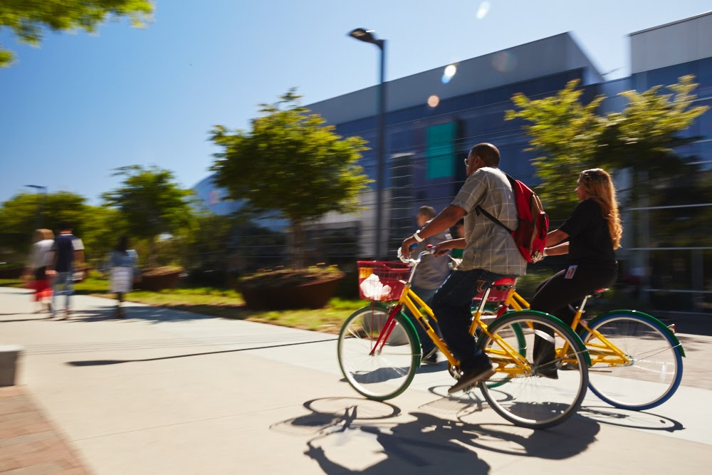 Google's Gbikes.