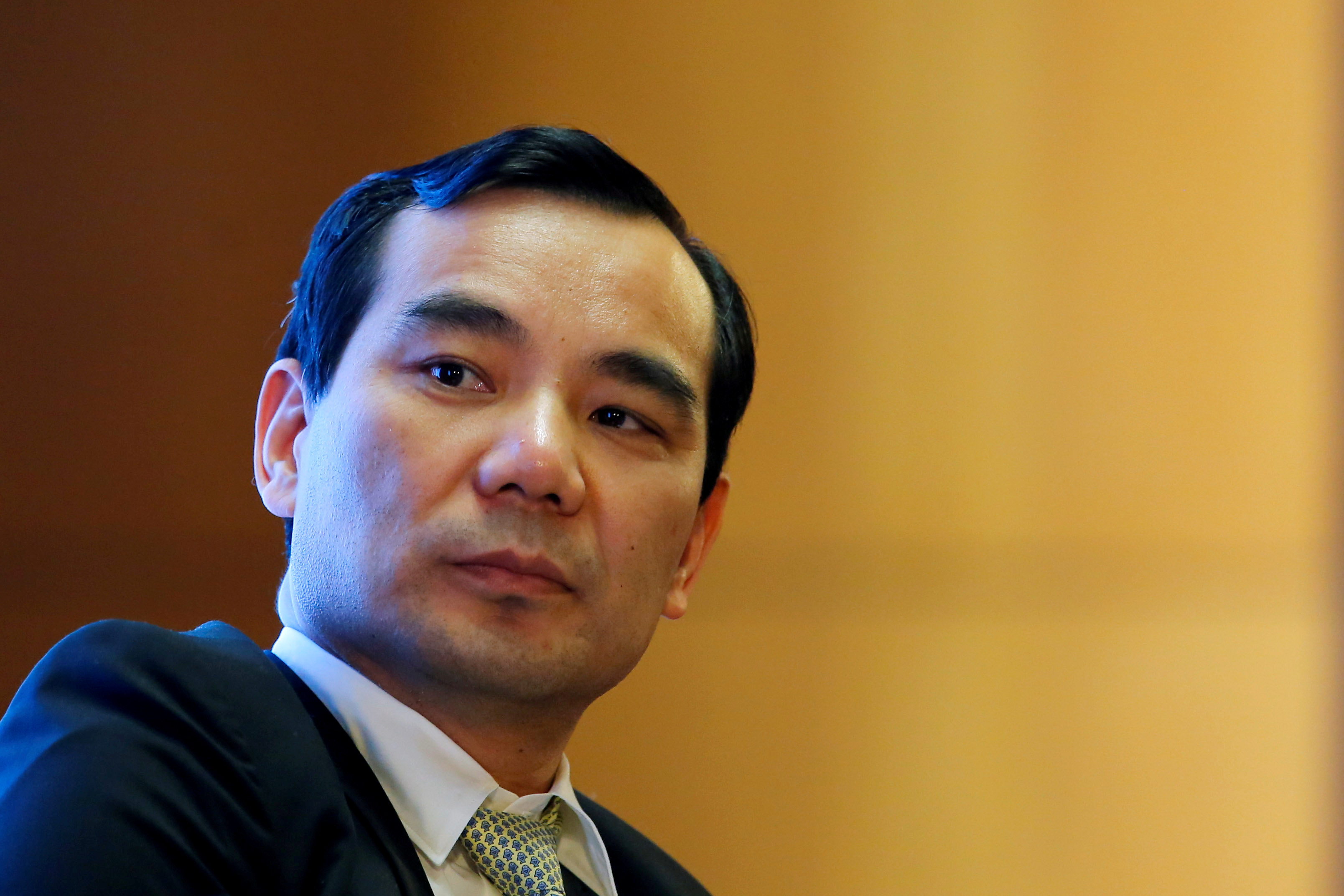 FILE PHOTO: Chairman of Anbang Insurance Group Wu Xiaohui attends the China Development Forum in Beijing
