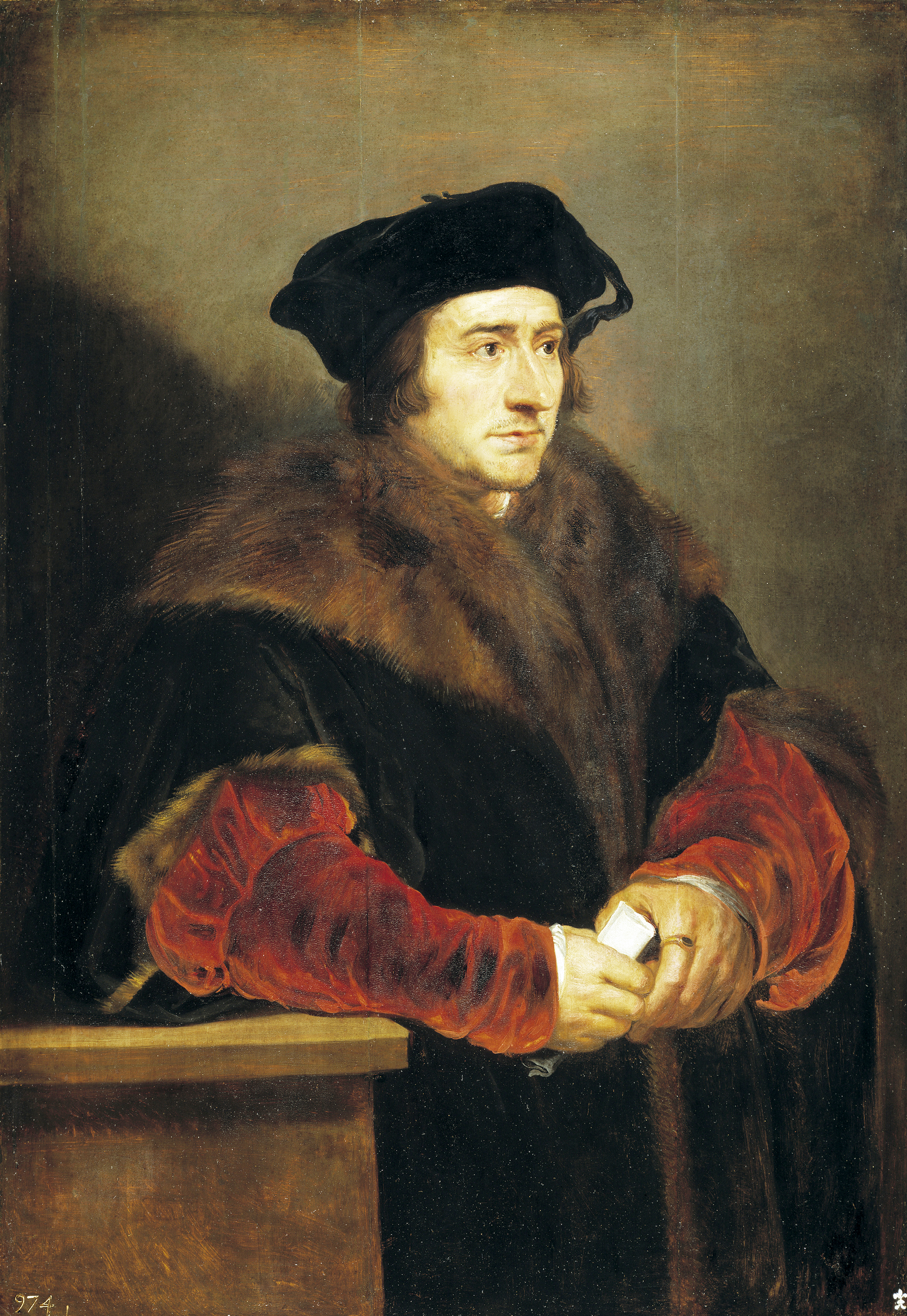 Portrait of Sir Thomas More, 1625-1630. Found in the collection of the Museo del Prado, Madrid.