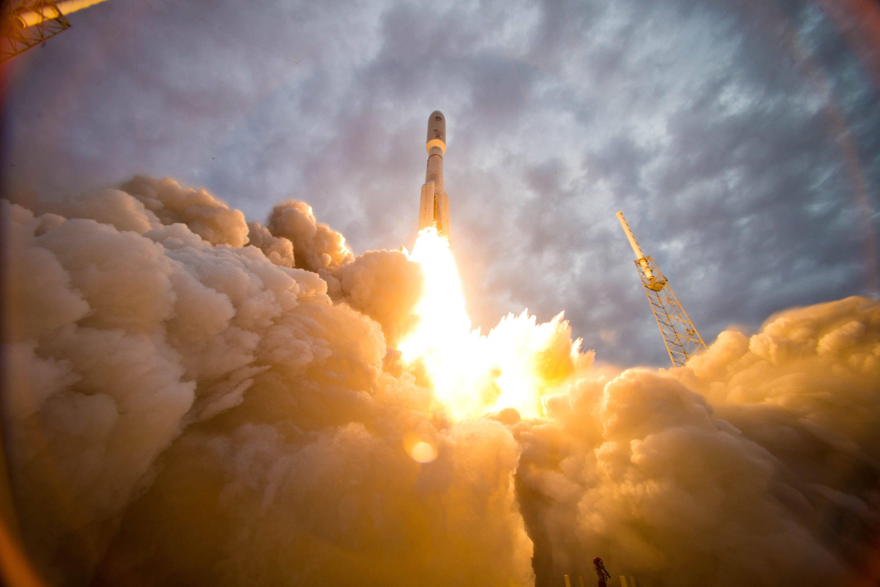 Launch of Atlas V MUOS-2, July 19, 2013 from Cape Canaveral AFS