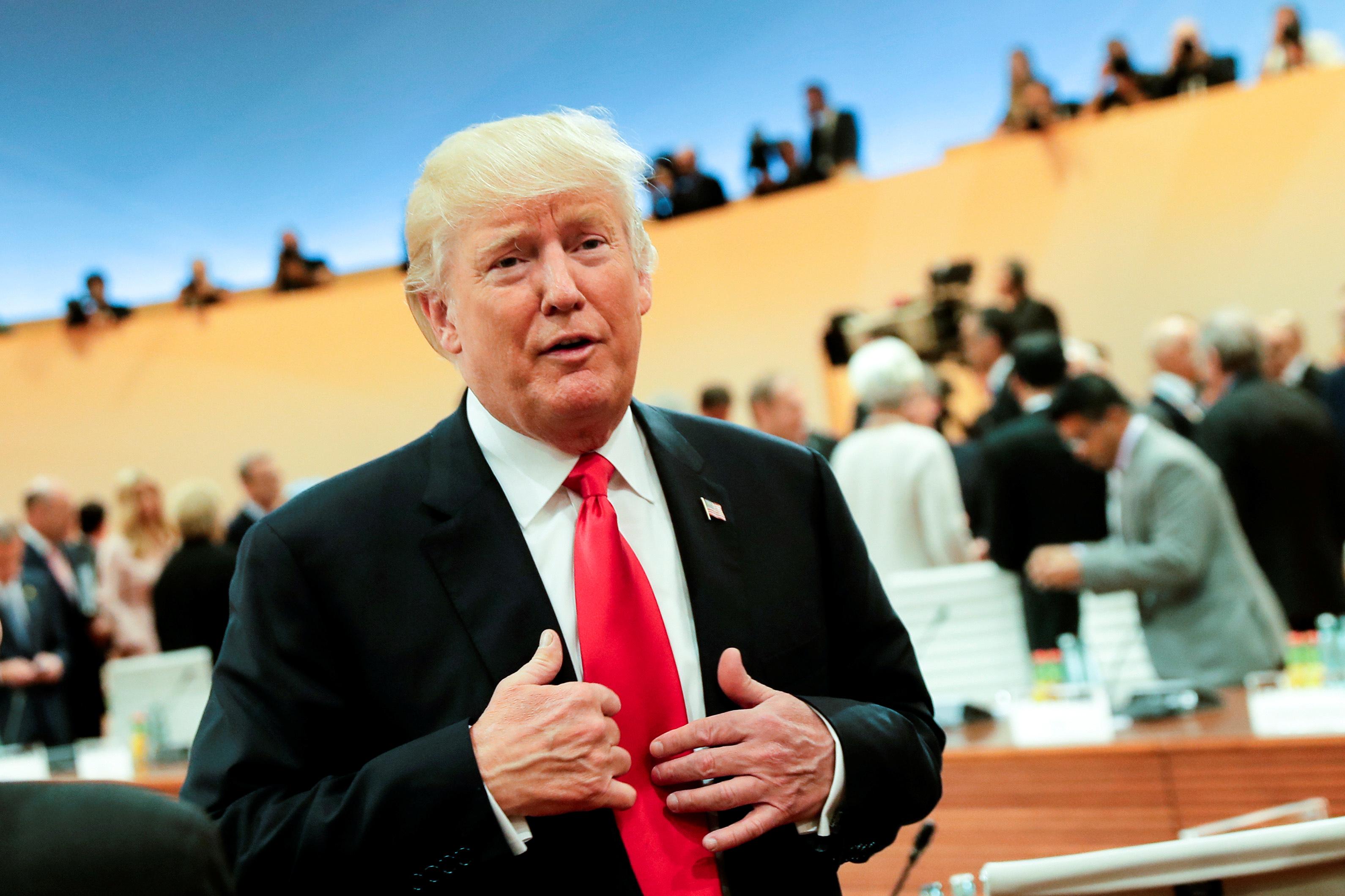 G-20 summit in Hamburg