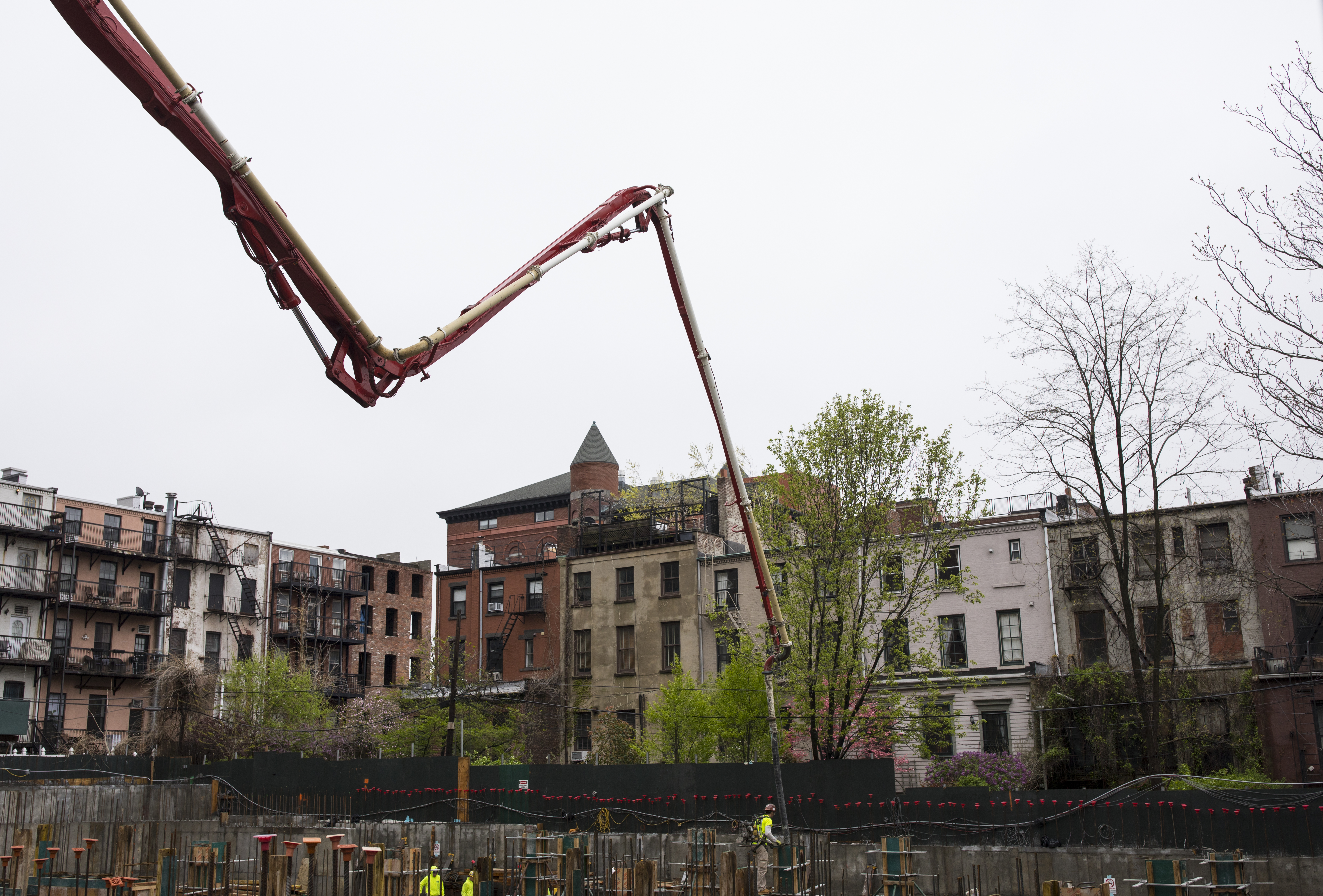 Residential Building Boom In Brooklyn, New York