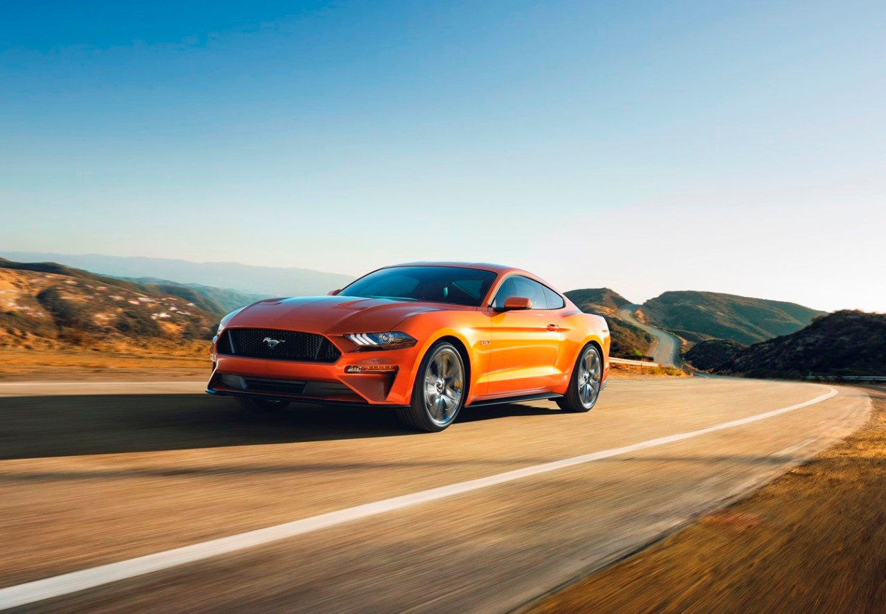 The 2018 Mustang will be on sale in fall.