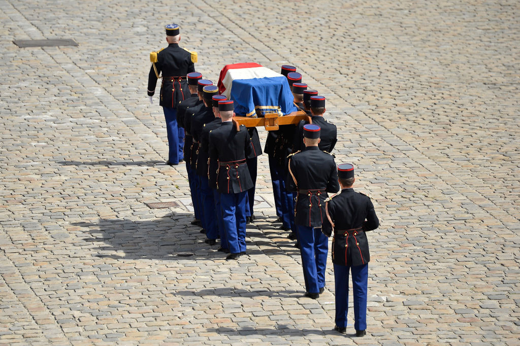 Simone Veil Funeral At Hotel Des Invalides In Paris